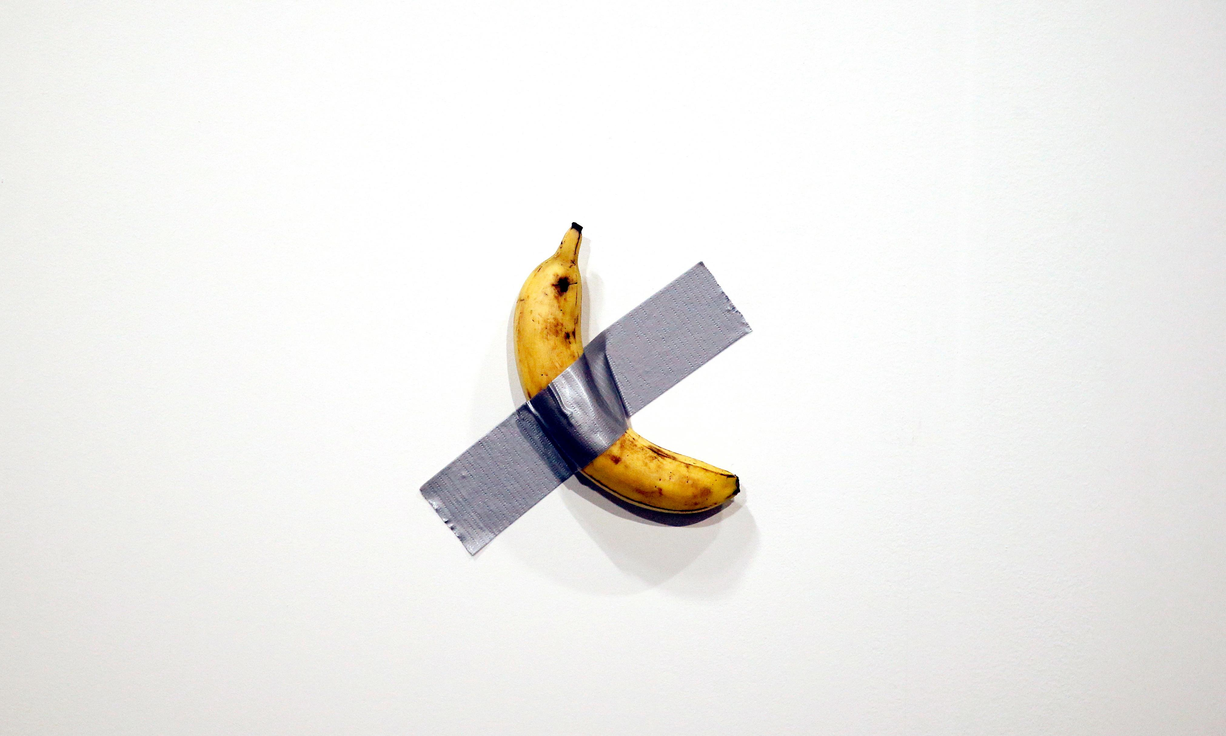 One banana, what could it cost? $120,000 – if it's art