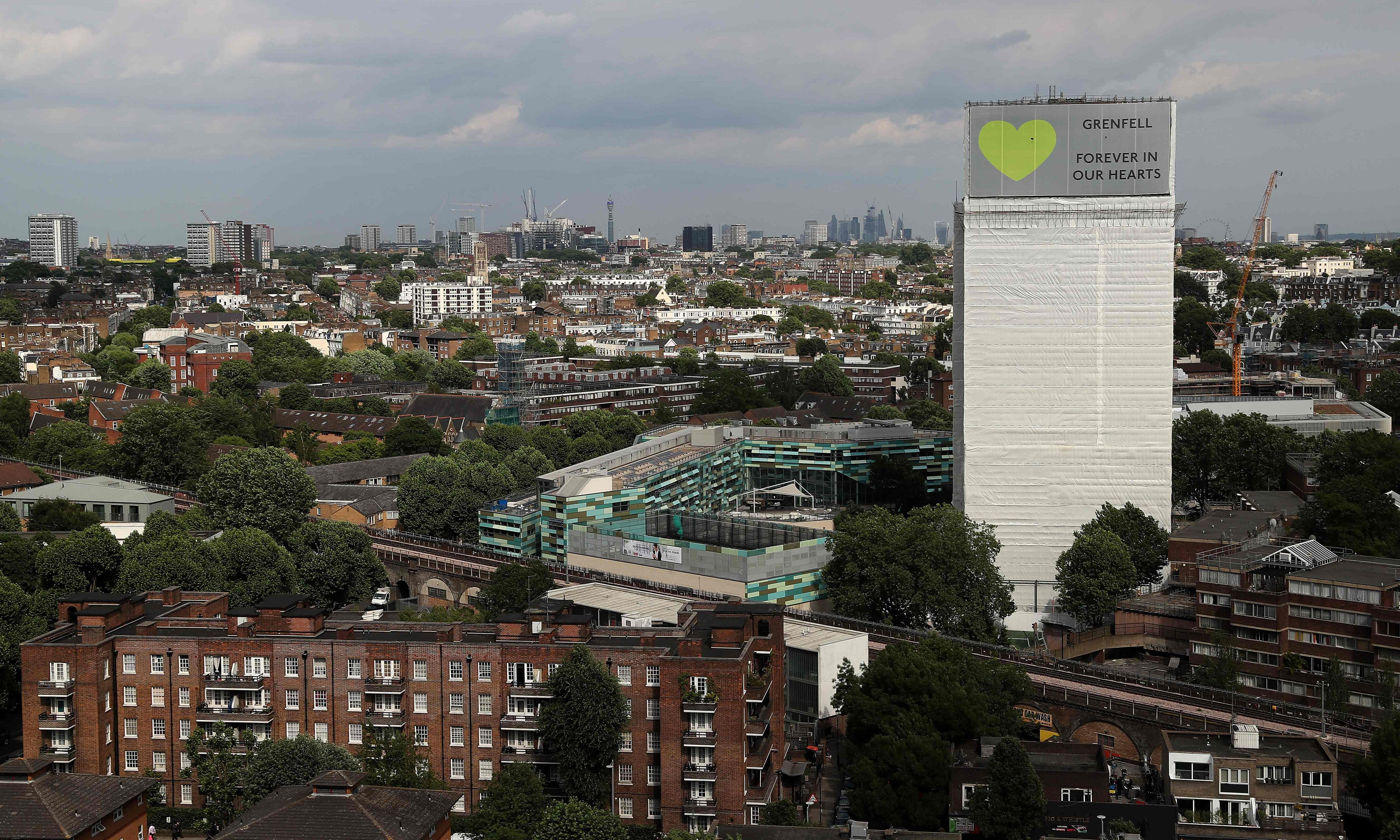 CPS mulls charges over burning effigy of Grenfell Tower