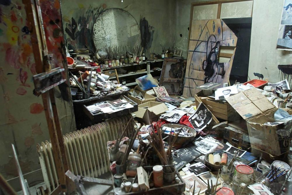 Organised chaos … a reconstructed version of Bacon's studio at the Hugh Lane Gallery in Dublin.