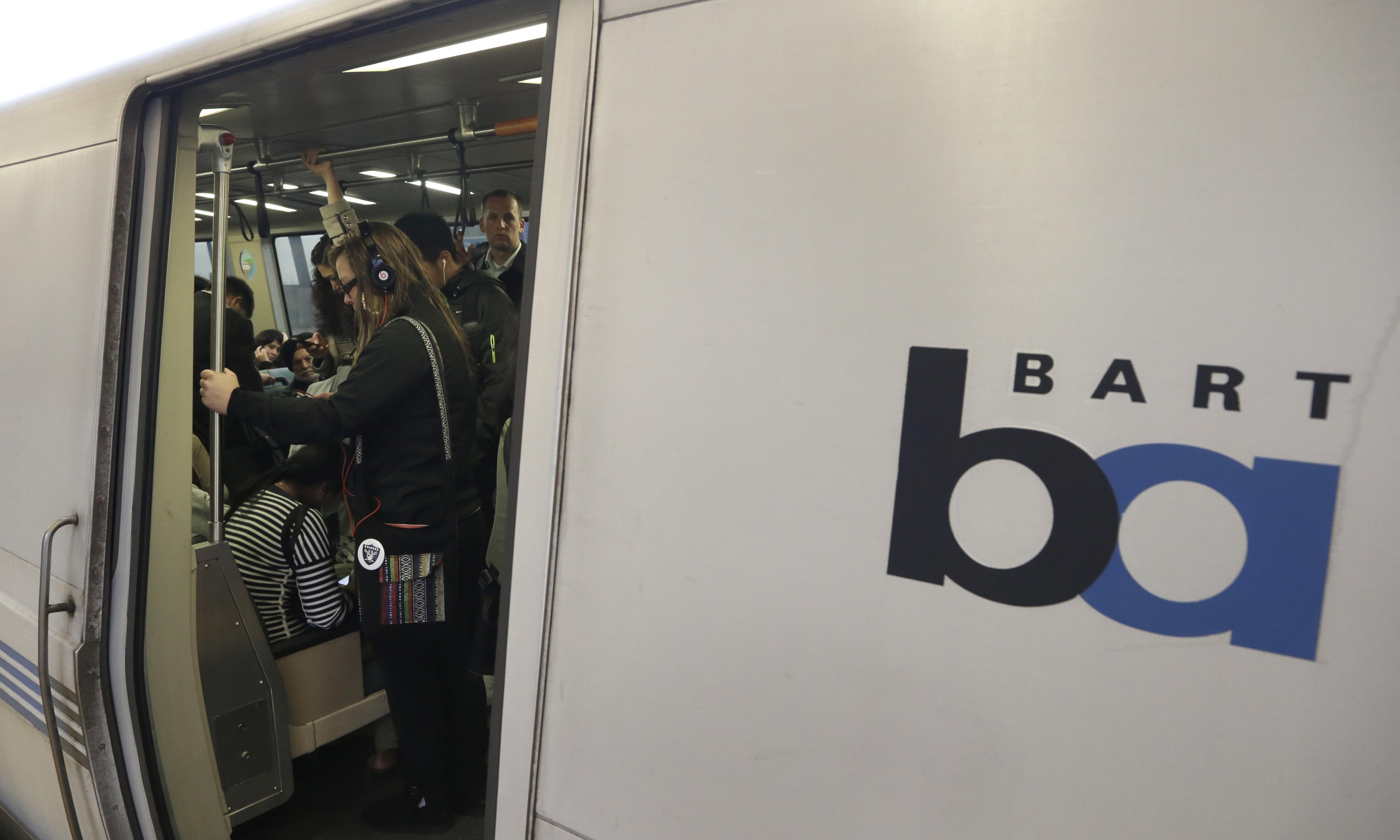 Police cited 55 people for eating on San Francisco trains. Only nine were white