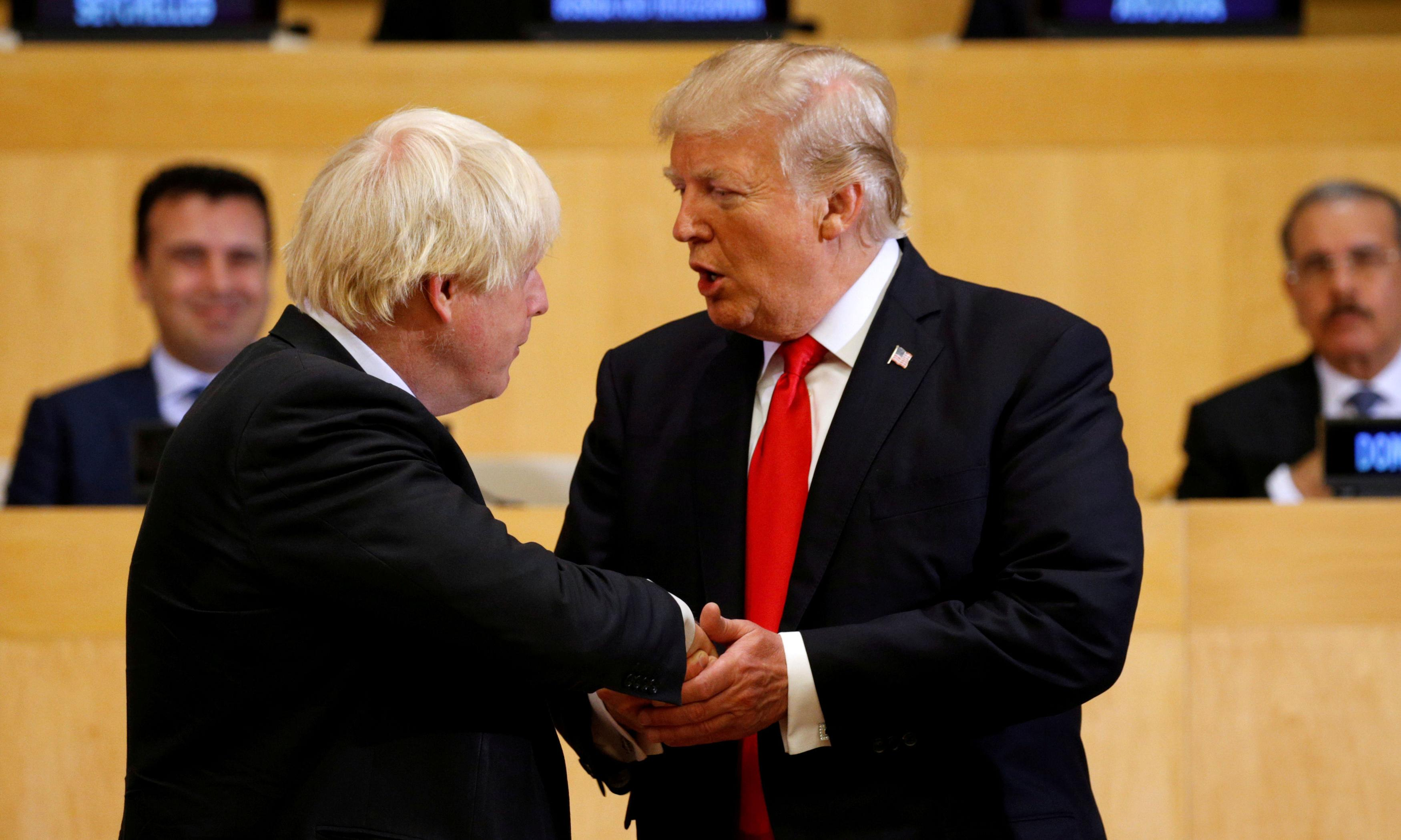 How will the US-UK relationship evolve with Boris Johnson in No 10?