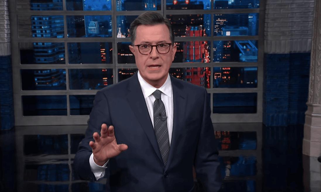 Stephen Colbert: 'He's not just Bernie Sanders, he's Grey Guevara'