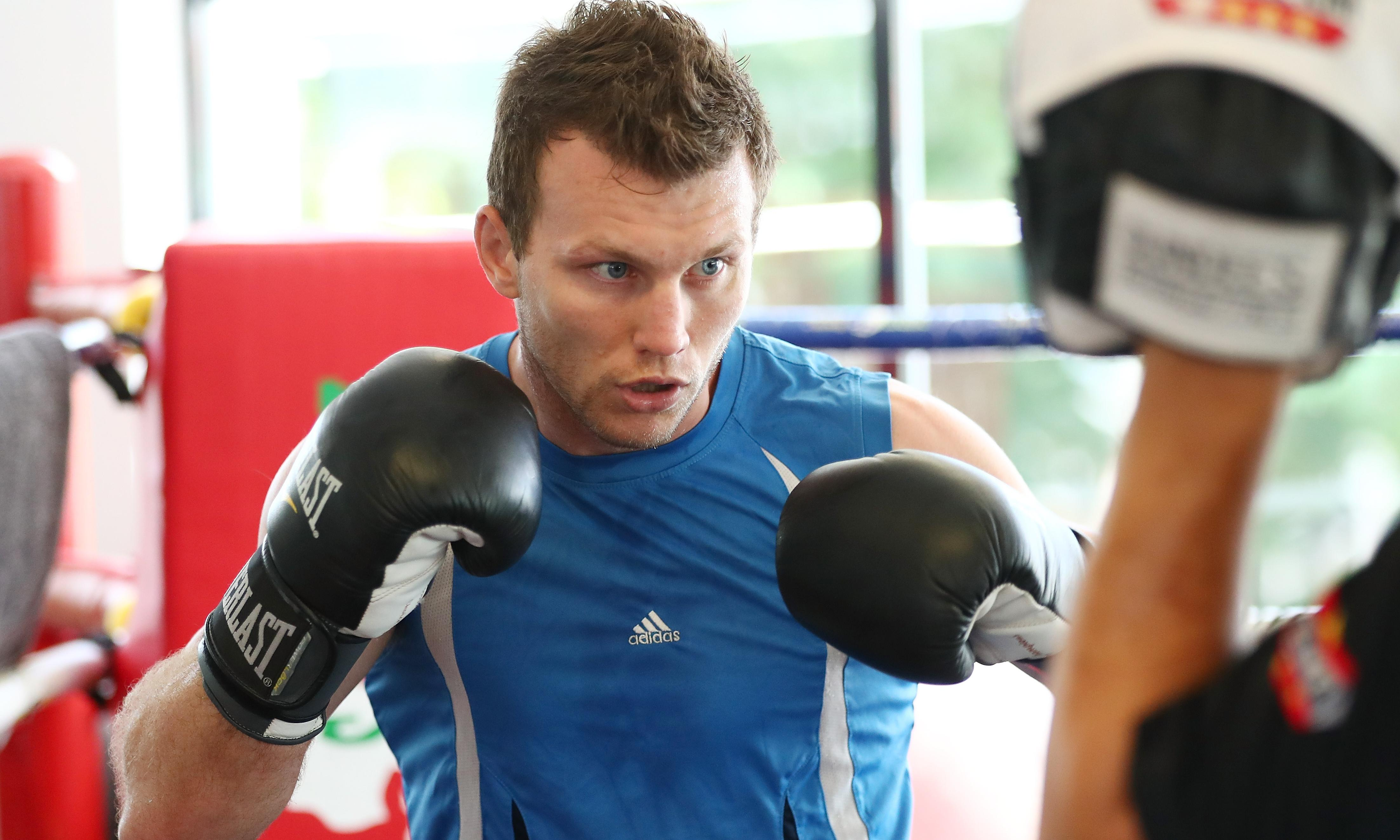 Gloves with no foam padding to be used in Jeff Horn's fight with Terence Crawford