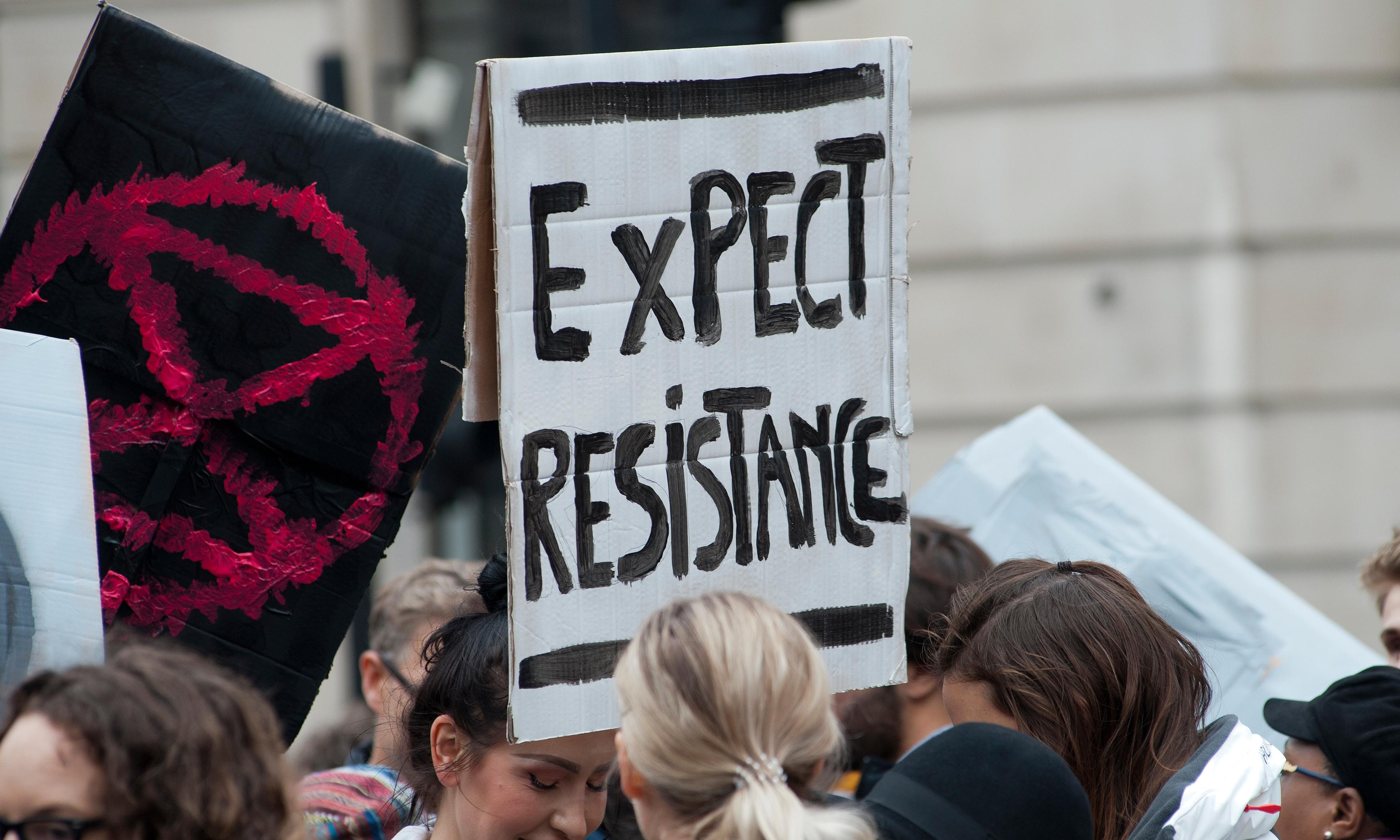 'To do nothing is criminal': XR activists on defying the police