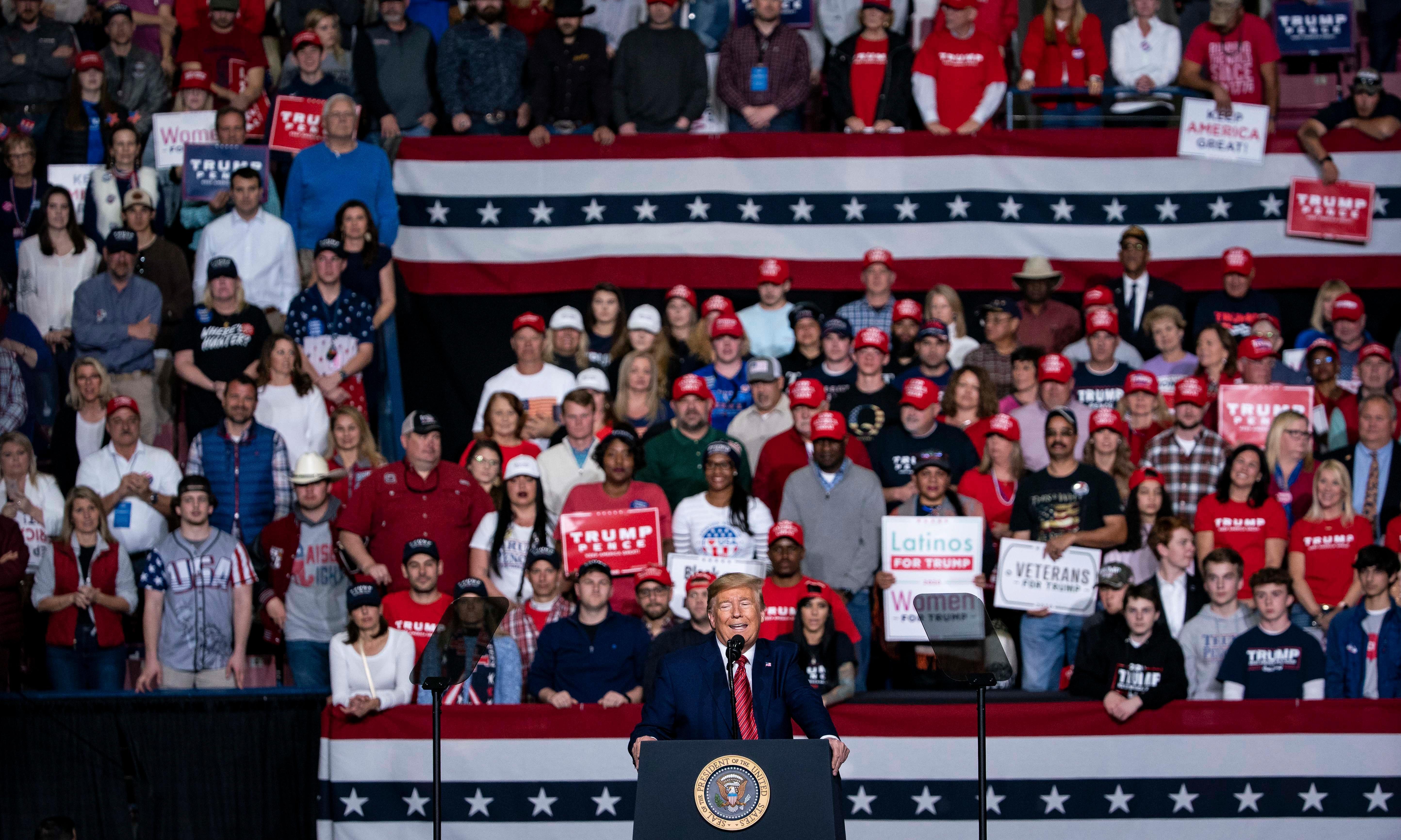 Trump calls coronavirus criticism Democrats' 'new hoax' and links it to immigration