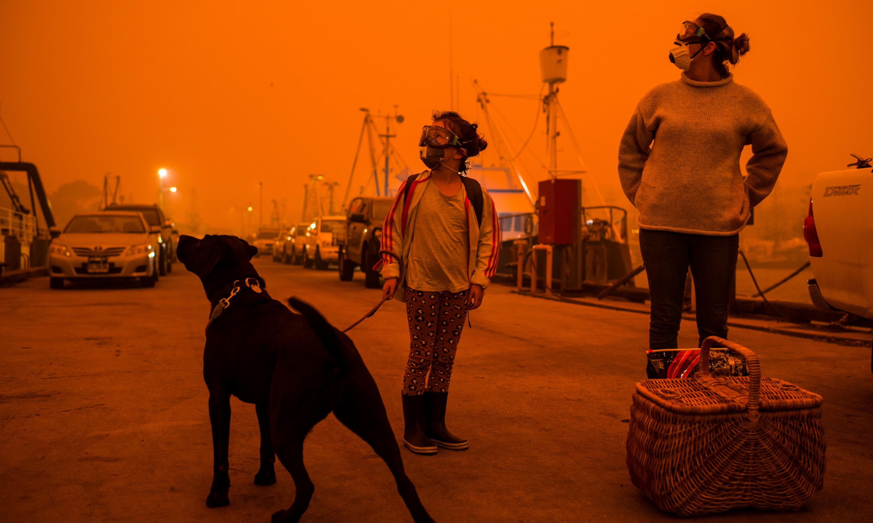 Pictures of the world on fire won't shock us for much longer