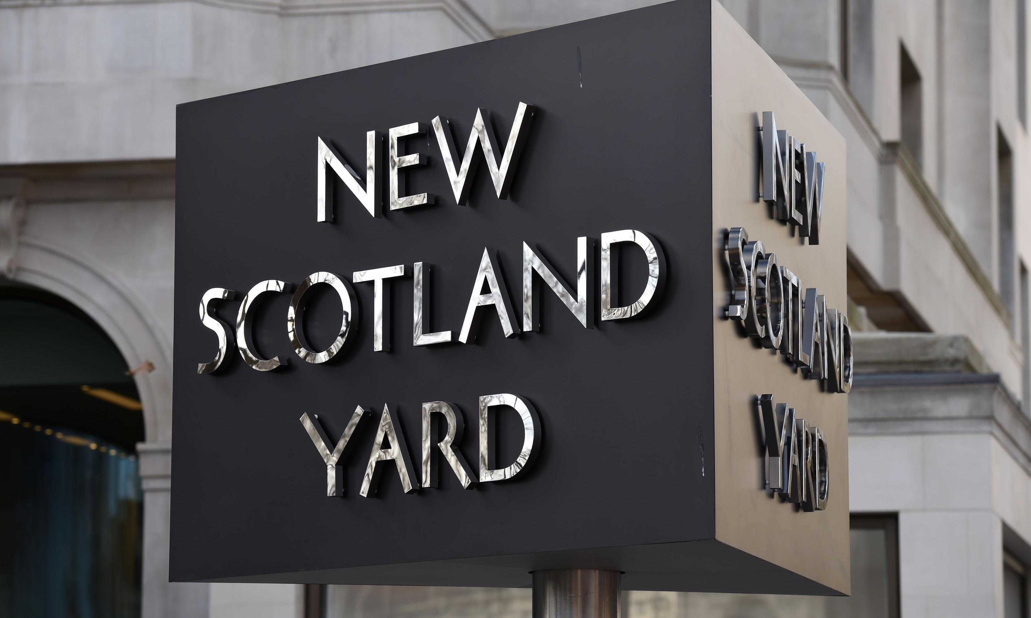 Scotland Yard's Twitter account breached in series of bizarre posts