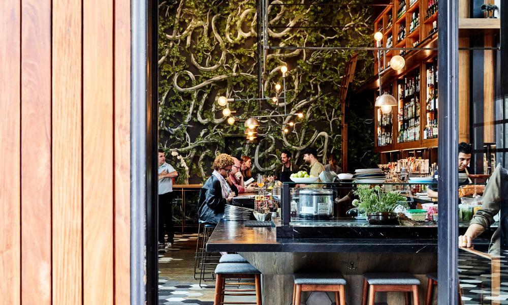 Otium restaurant, LA