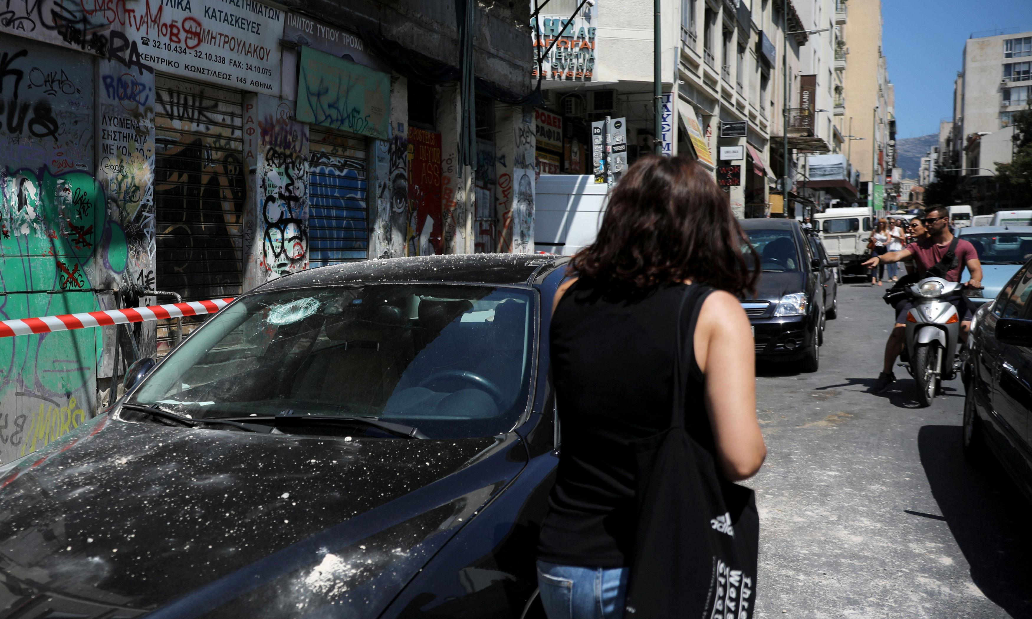Athens residents flee as strong earthquake shakes Greek capital