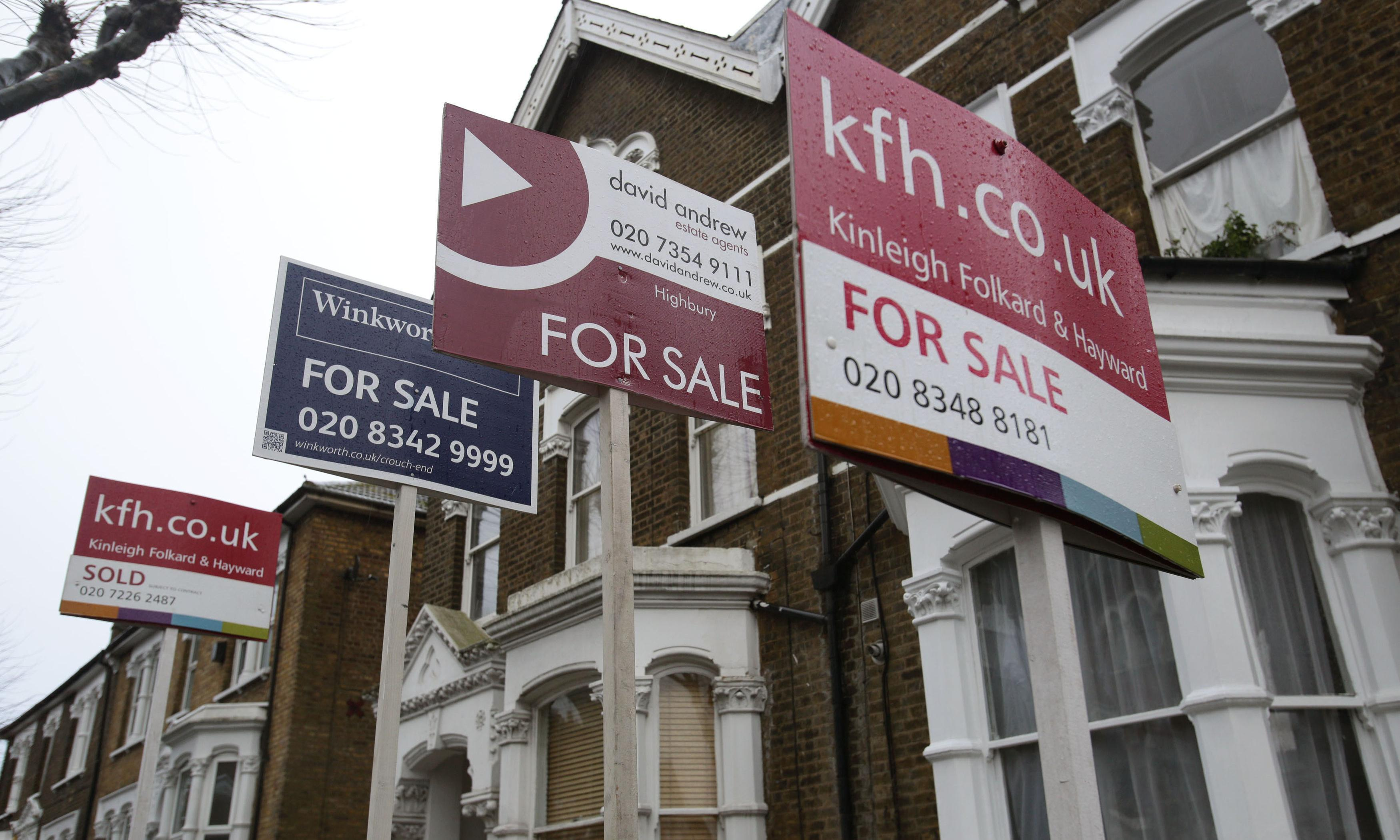 Brexit uncertainty taking toll on property market, experts say