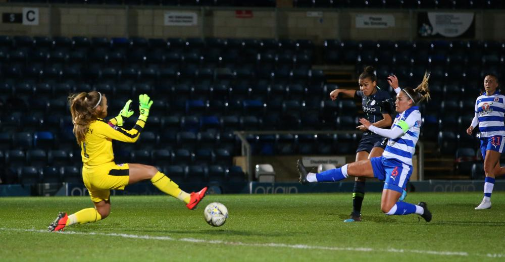 Nikita Parris doing her thing.