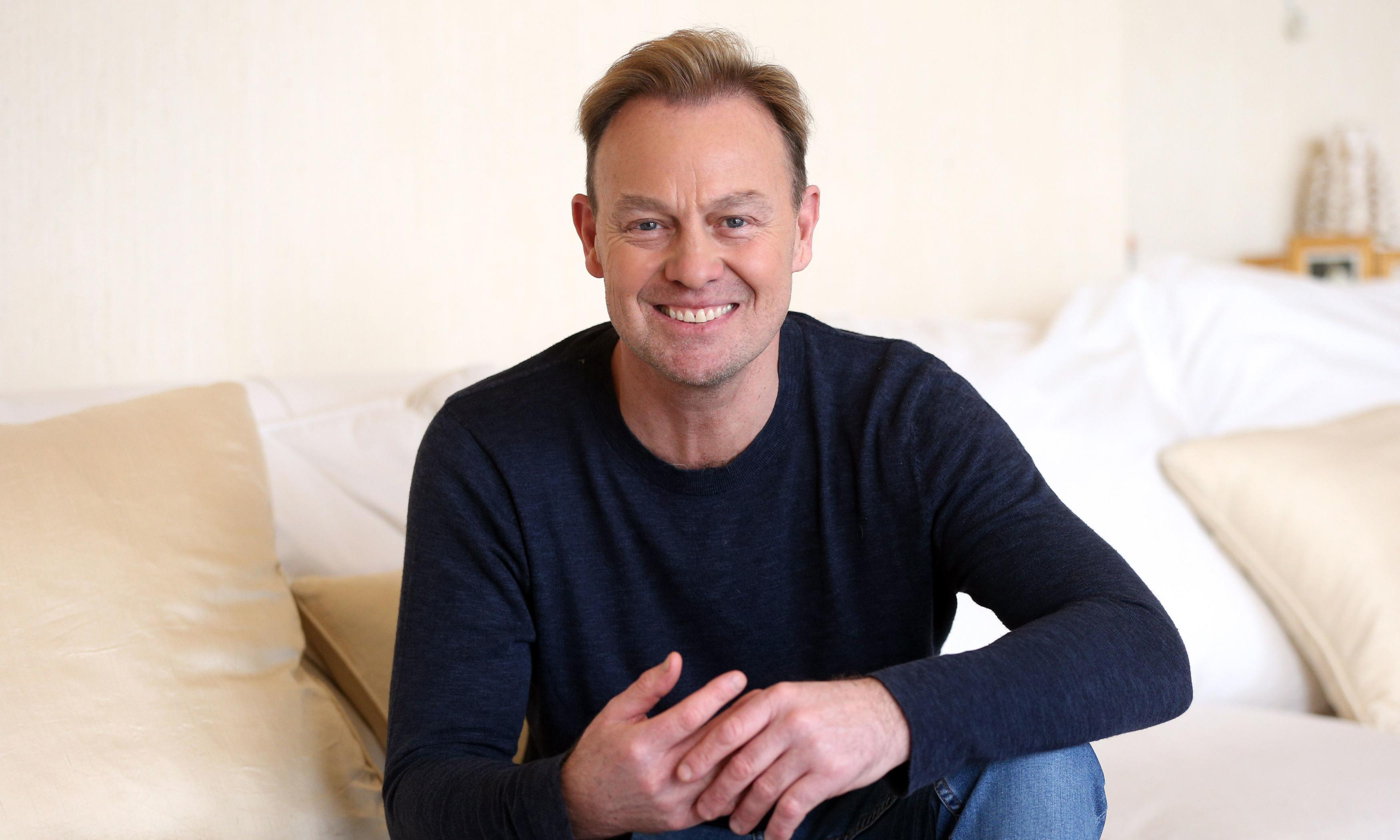 Jason Donovan a good neighbour as he goes out in pants to fight fire