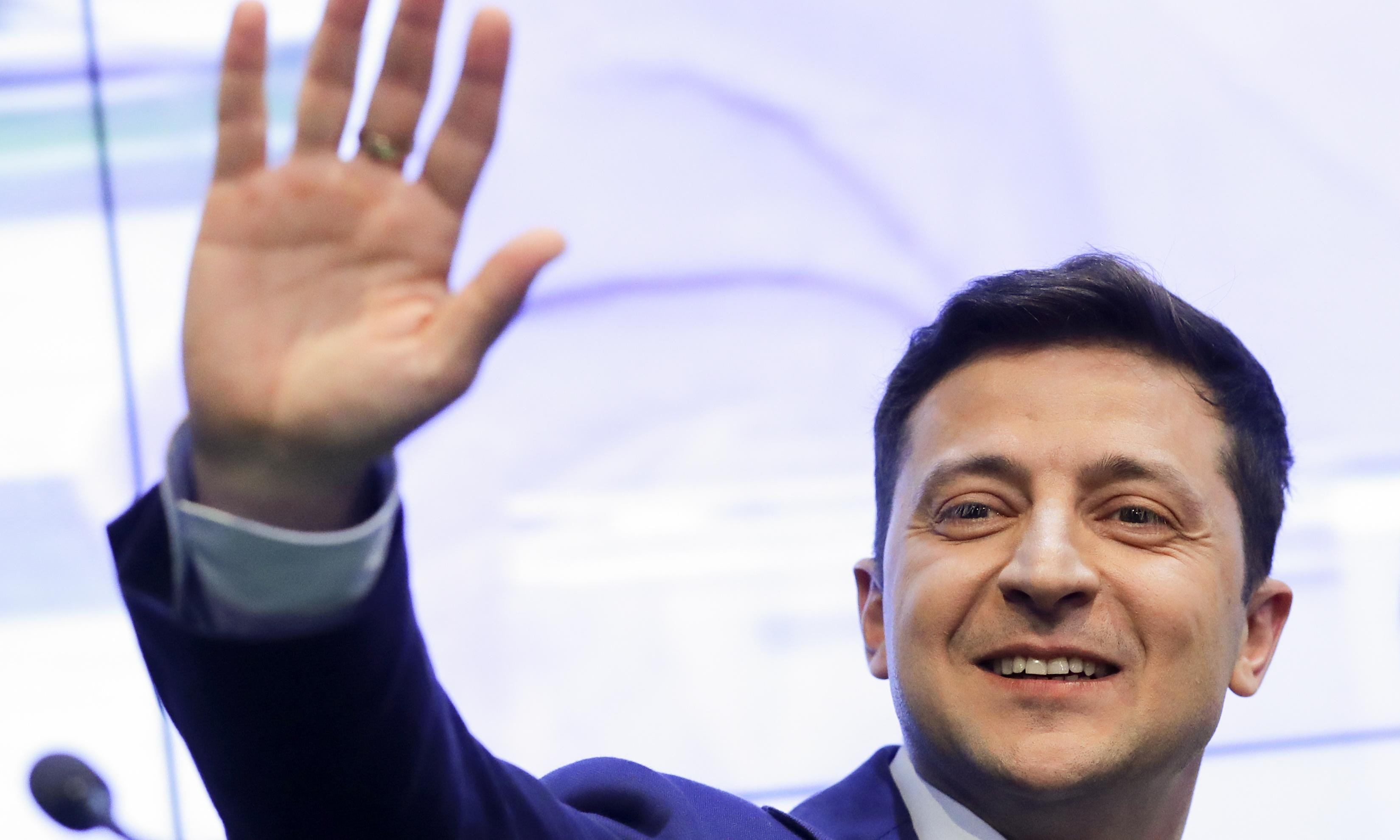 Zelenskiy wins second round of Ukraine's presidential election – exit poll