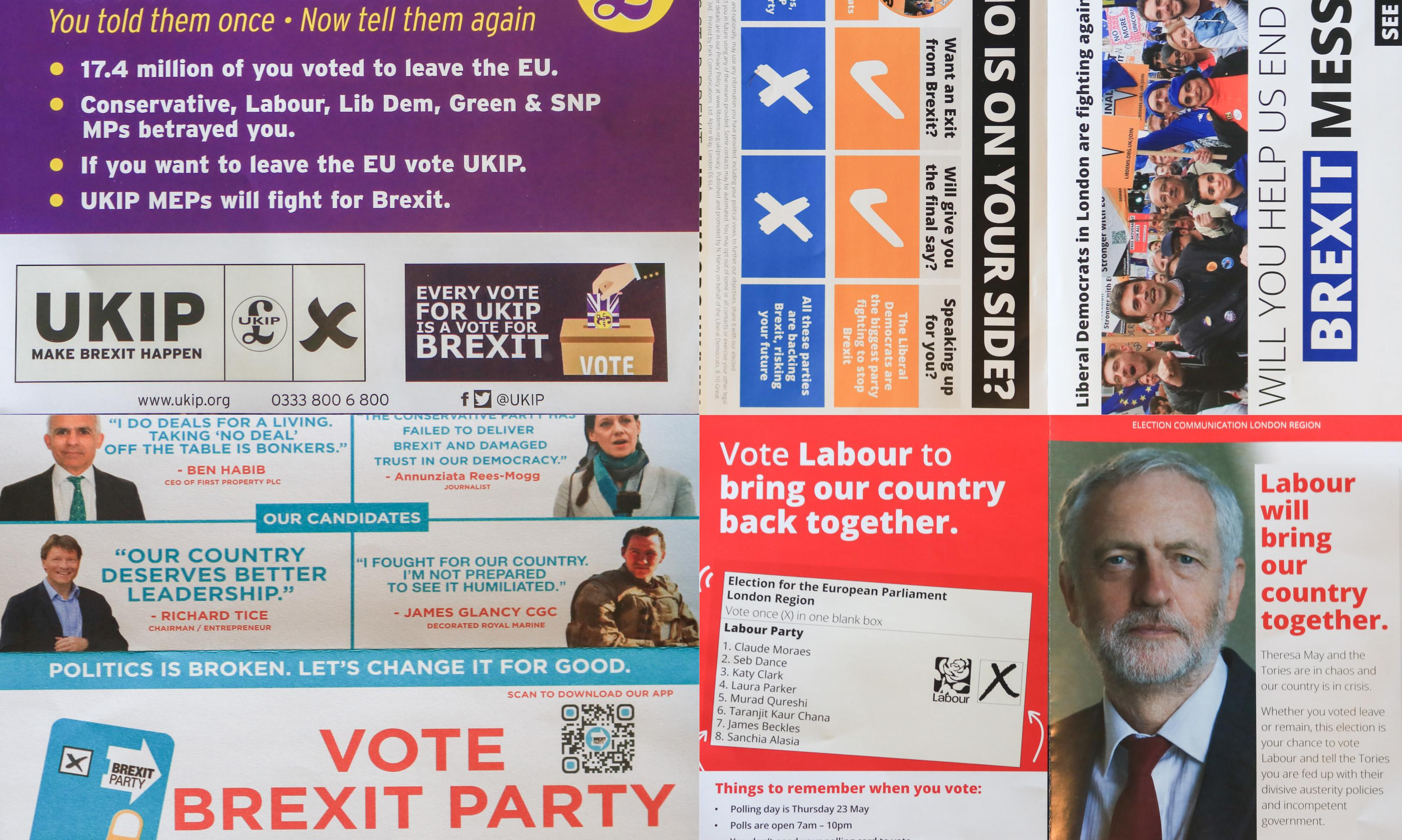 European elections 2019: am I registered to vote and why do I get those leaflets?