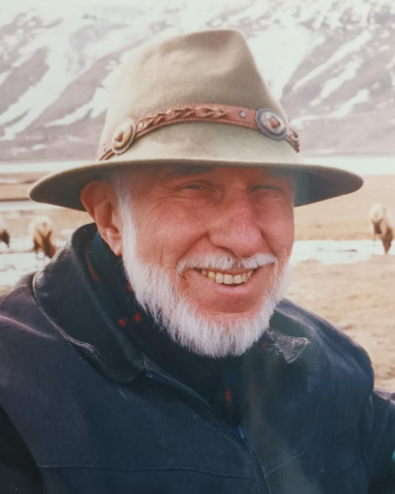 Norman Bailey in Wyoming, 1999. After marrying the US soprano Kristine Ciesinki in 1985, he lived in the neighbouring state of Idaho
