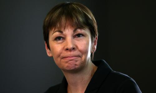 Caroline Lucas, the Green MP for Brighton Pavilion.