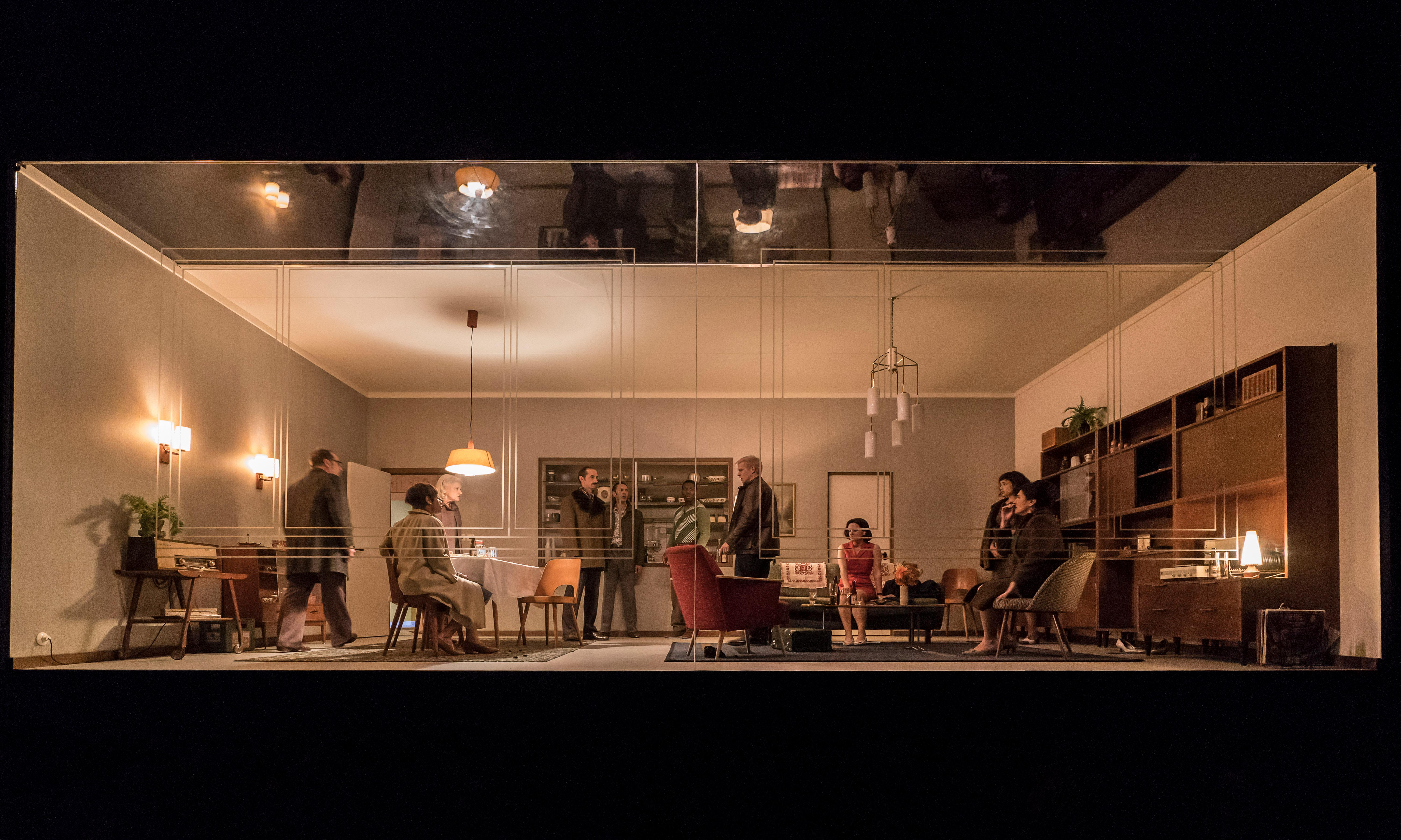 Wired up: East Berlin thriller makes National Theatre a surveillance centre