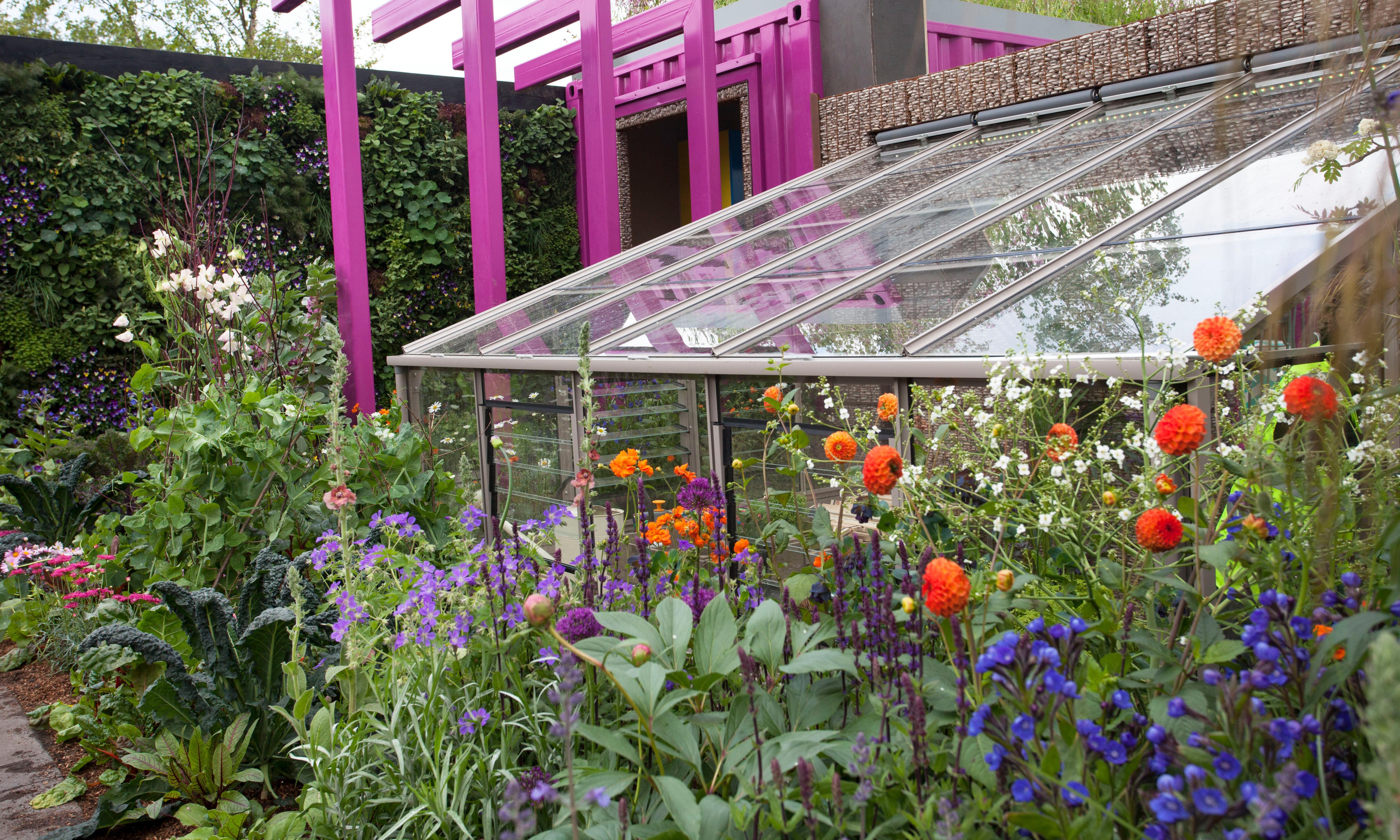 Hi-tech gardens bloom at London's Chelsea Flower Show