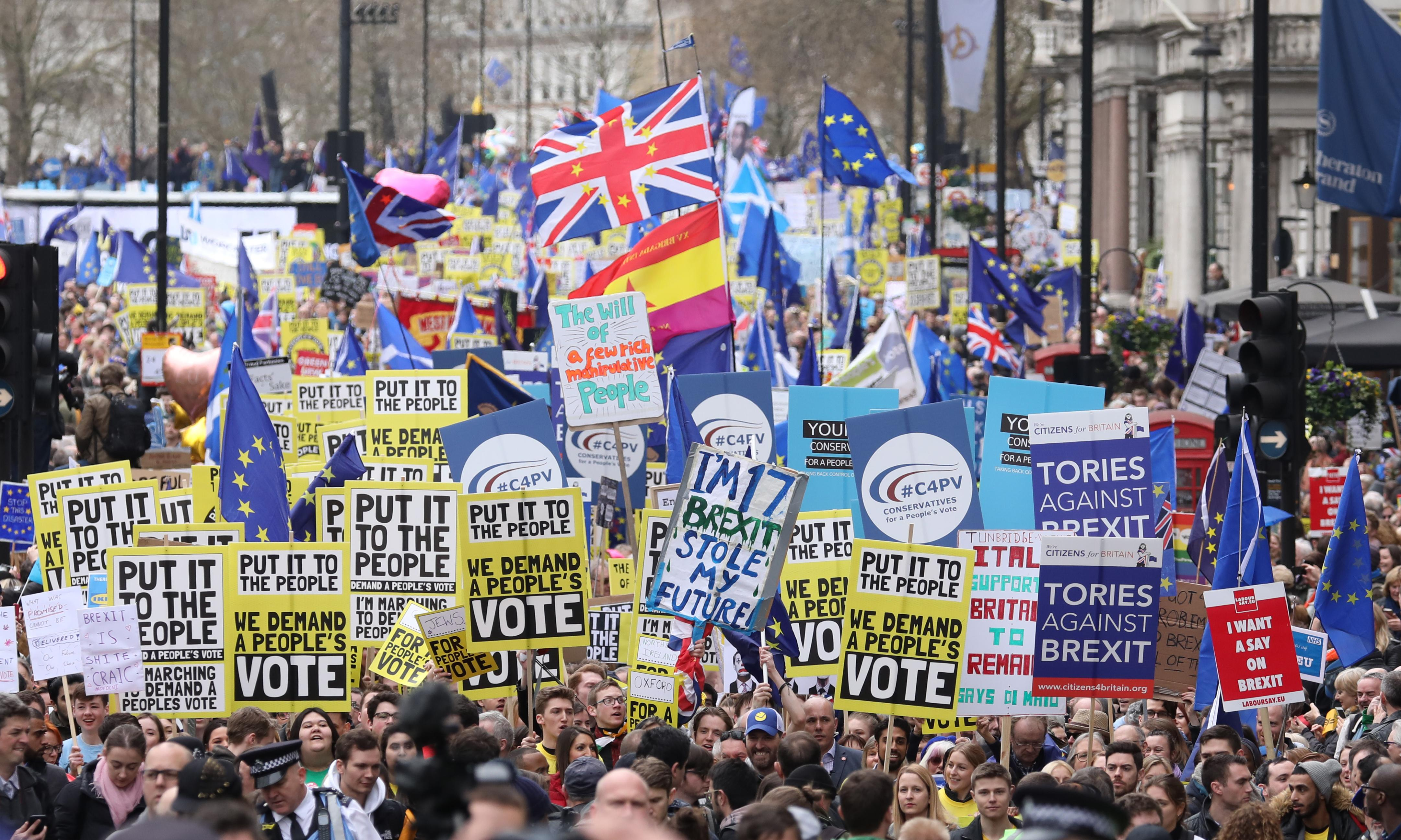 Britain is now a remain nation. We can halt this rush to Brexit