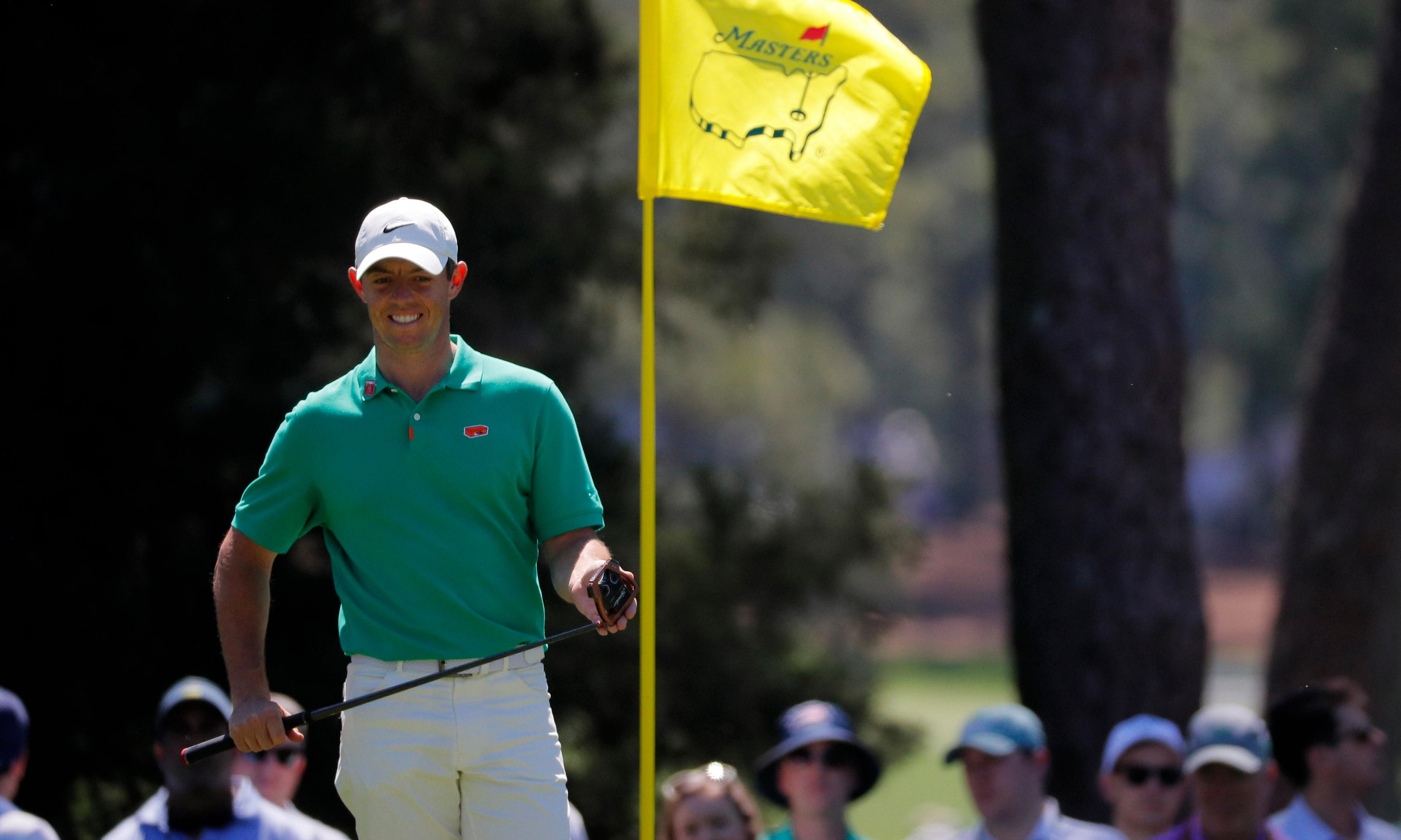 Rory McIlroy's big-picture mentality could end in a Masters high-five