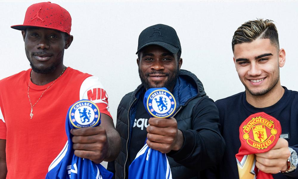The three team-mates will have divided loyalties during Chelsea's FA Cup quarter-final against Manchester United.