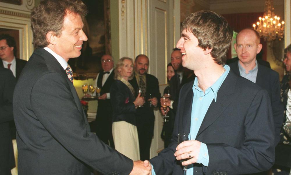 Tony Blair meets Noel Gallagher