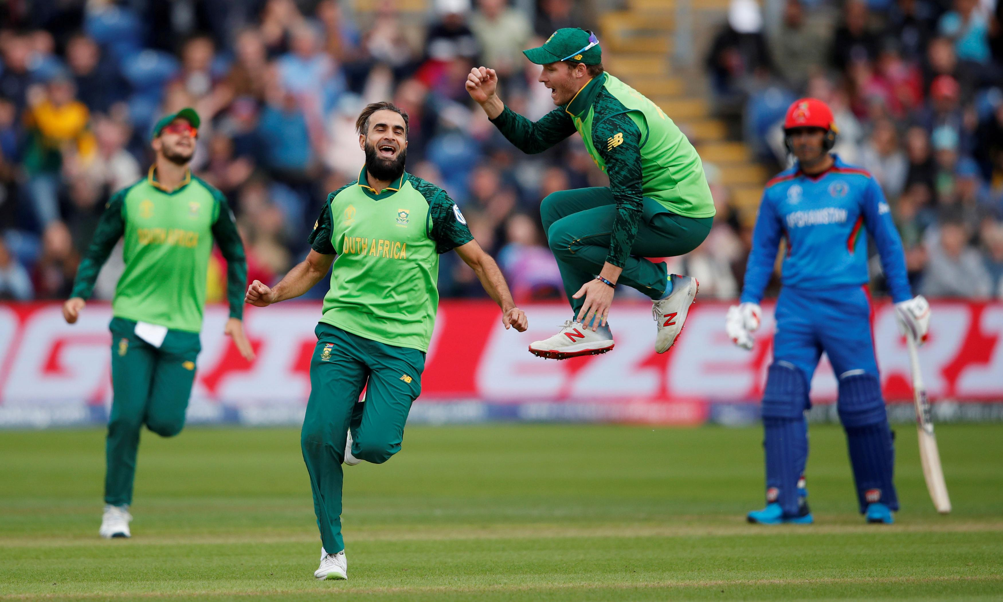 Imran Tahir too good for Afghanistan as South Africa ease to win