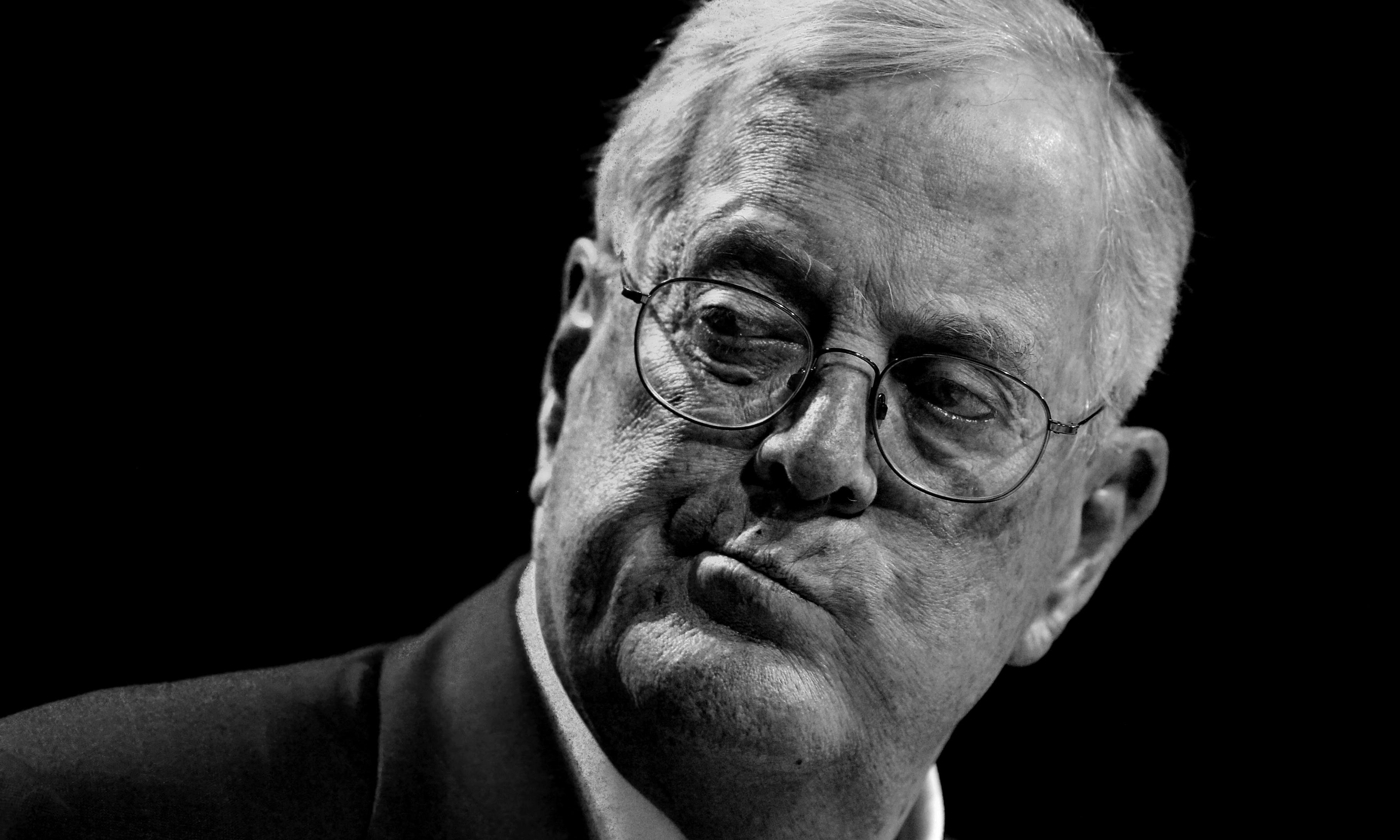 Death and destruction: this is David Koch's sad legacy