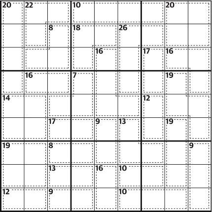 Killer sudoku 672