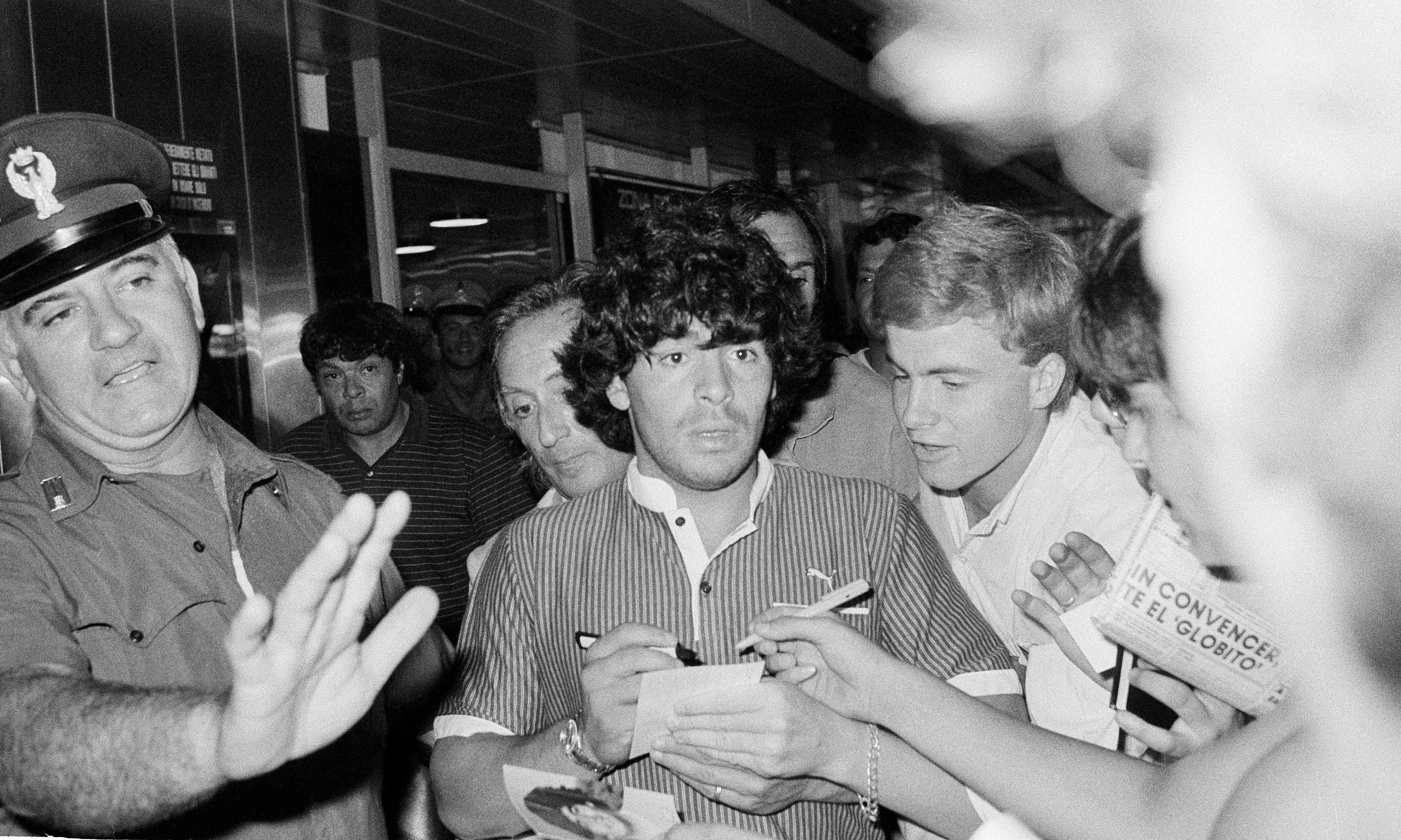 Maradona film reminds that untameables were not always untouchable