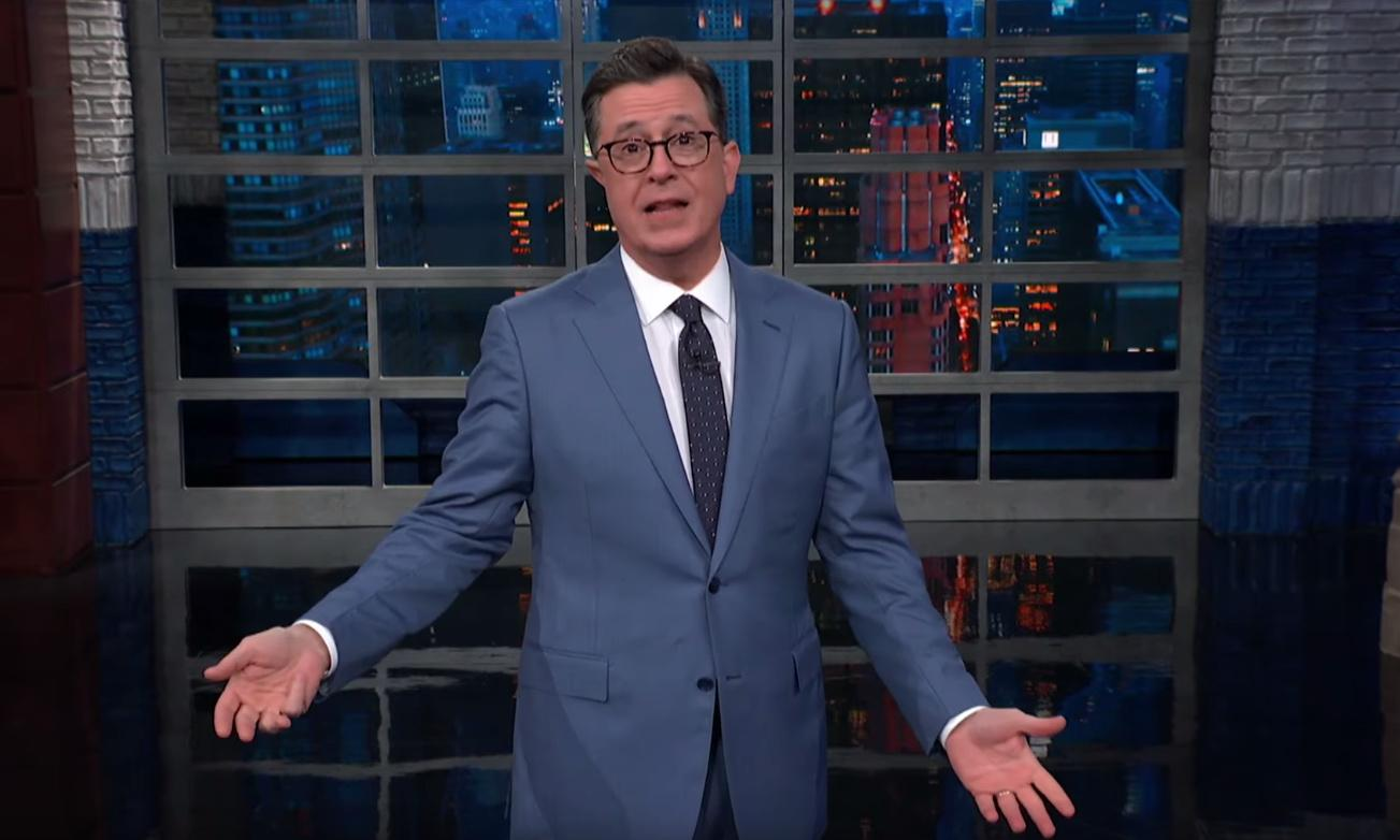 Stephen Colbert: 'If Trump can't trust Fox, what's he's going to do?'