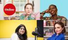Sophie Heawood, Candice Brathwaite, Anushka Asthana and Laura Dockrill