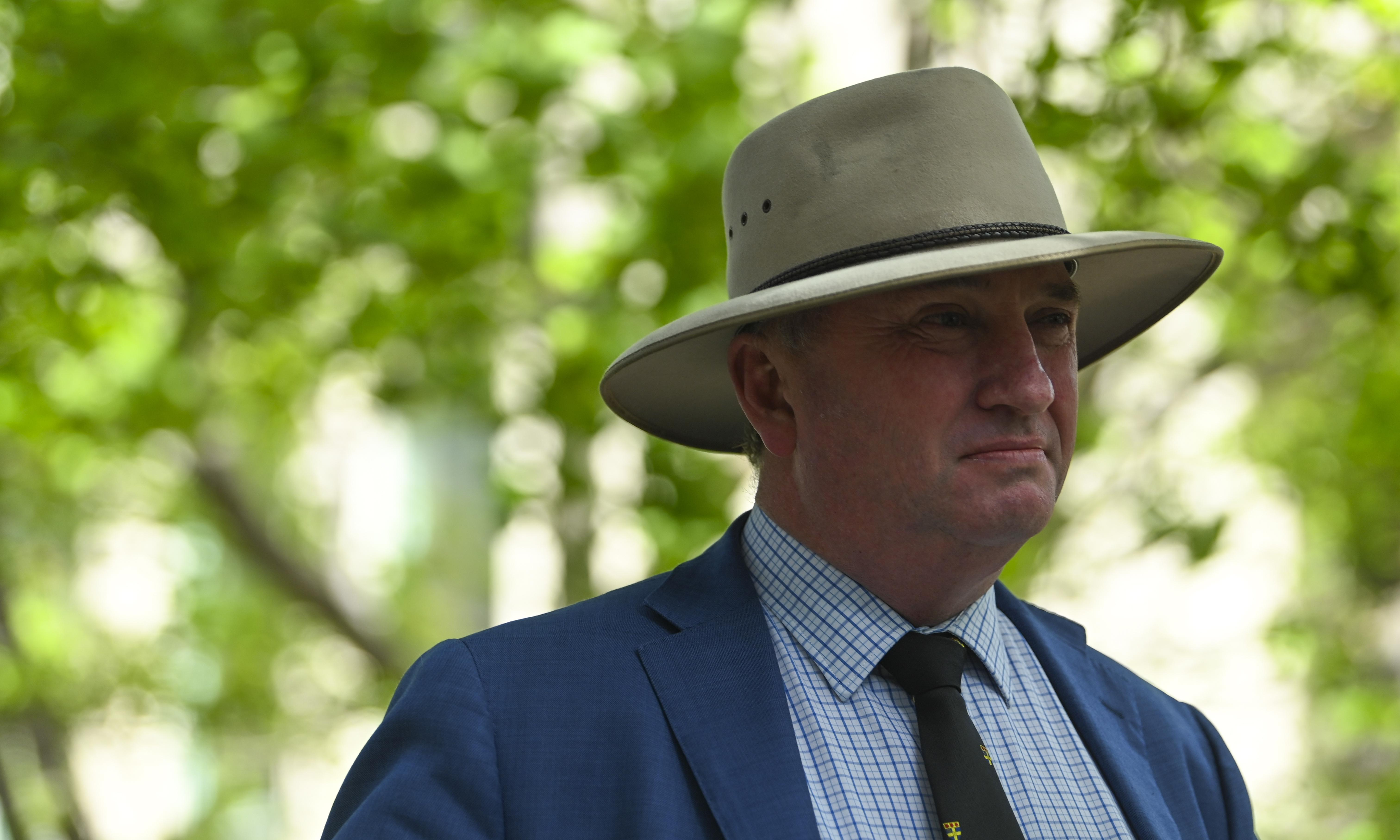 Barnaby Joyce 'disappointed' over Frydenberg approval of Bellamy's sale to China