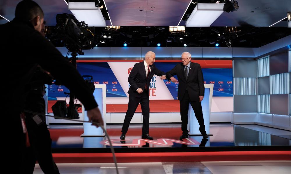 Bernie Sanders reassesses campaign after Biden builds formidable lead