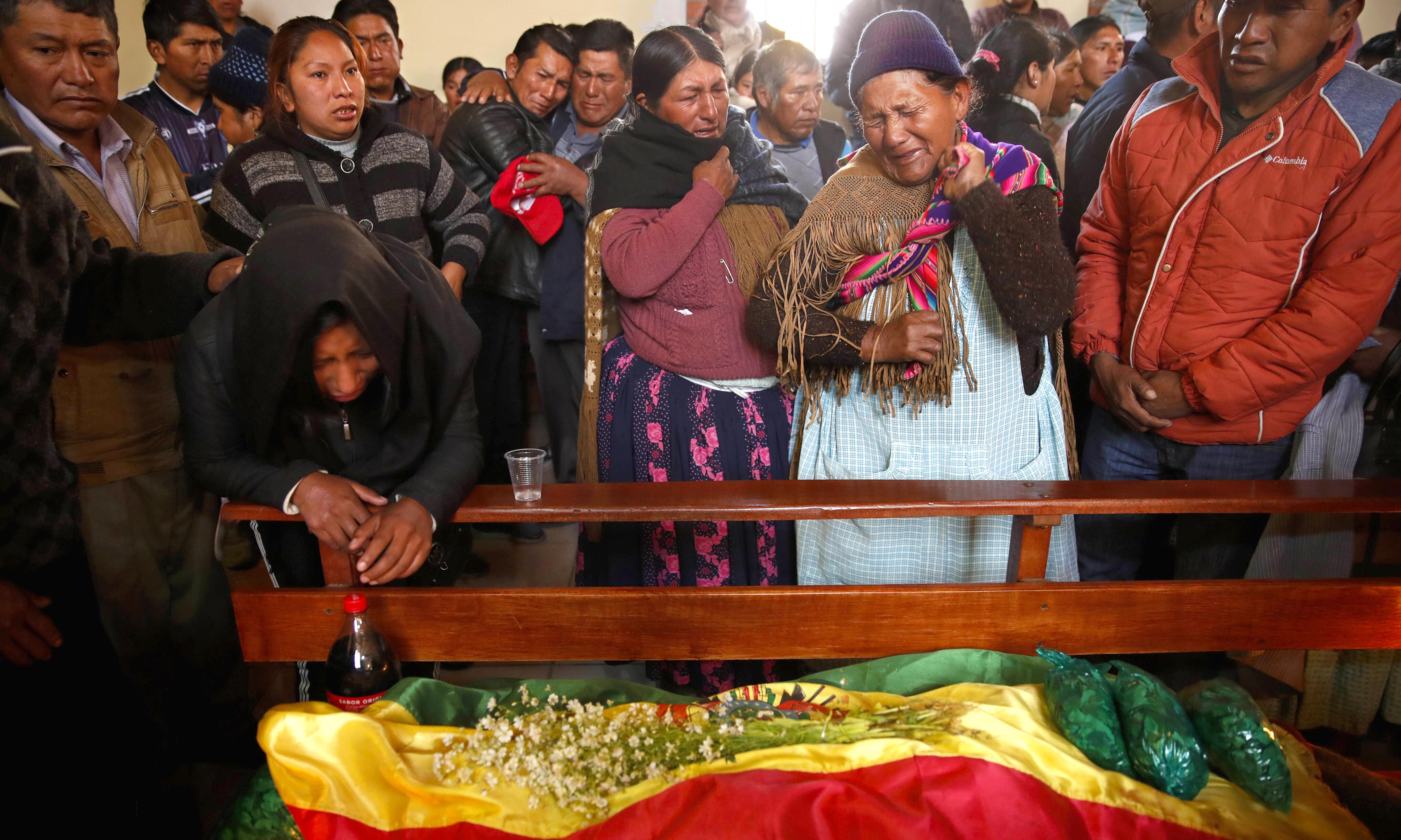 'What happened was a massacre': grief and rage in Bolivia after day of deadly violence