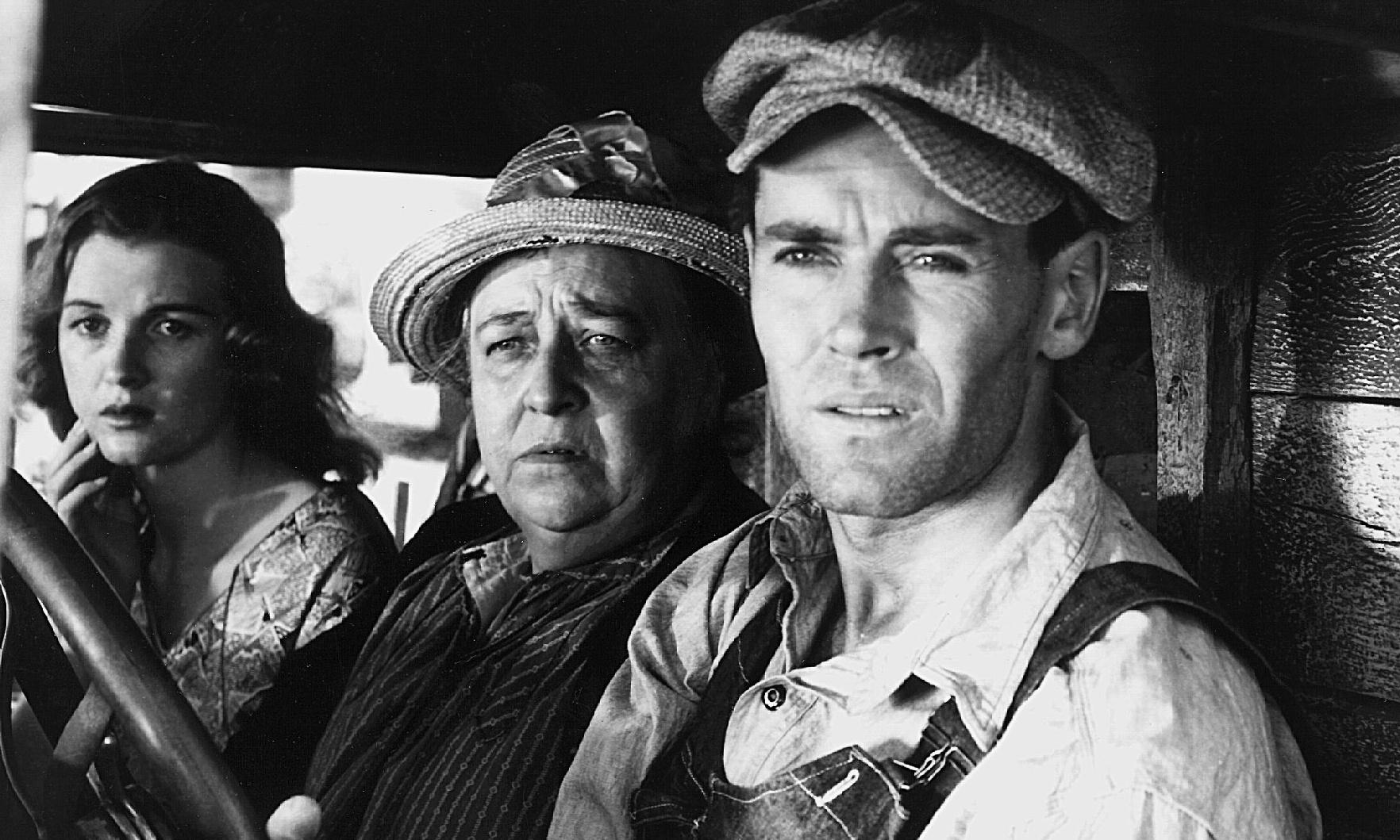 Steinbeck's Grapes of Wrath made into a film - archive, 1940