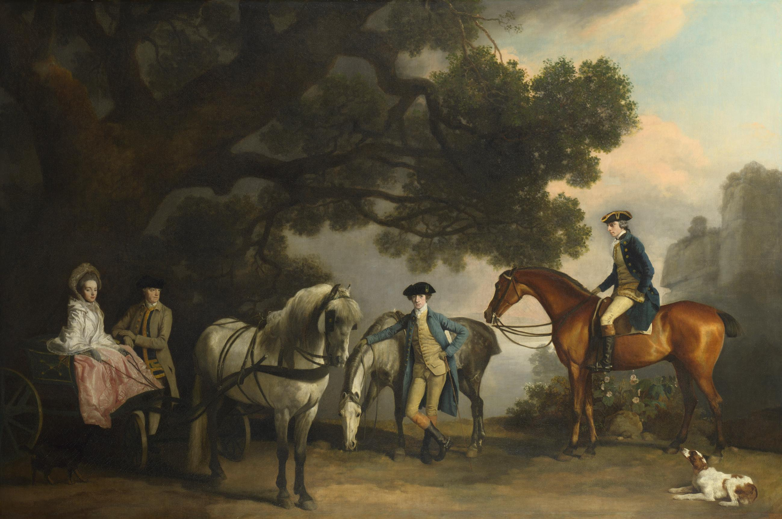 George Stubbs show to display skeleton of superstar horse Eclipse