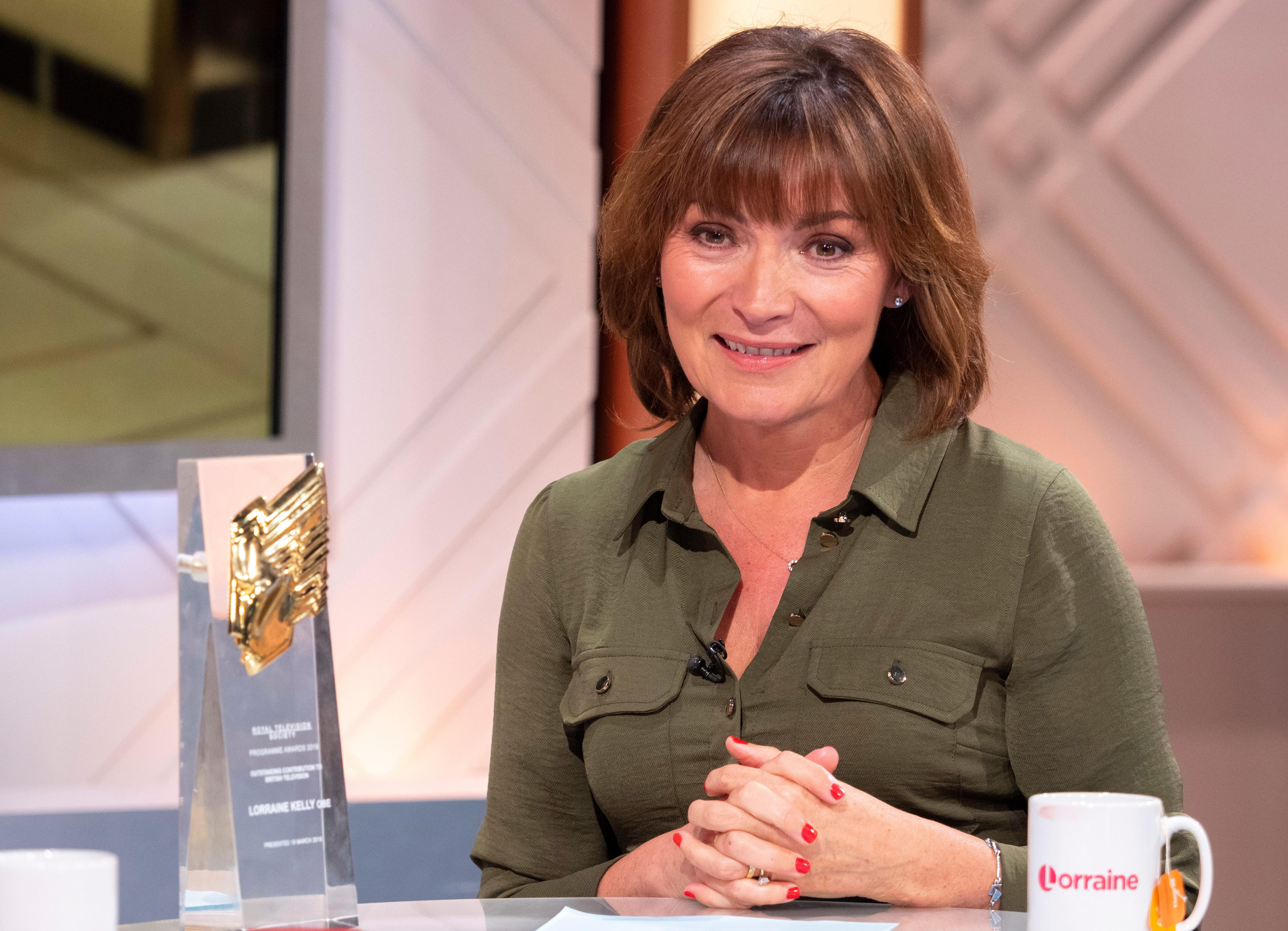 Are we not all Lorraine Kelly, playing versions of ourselves?