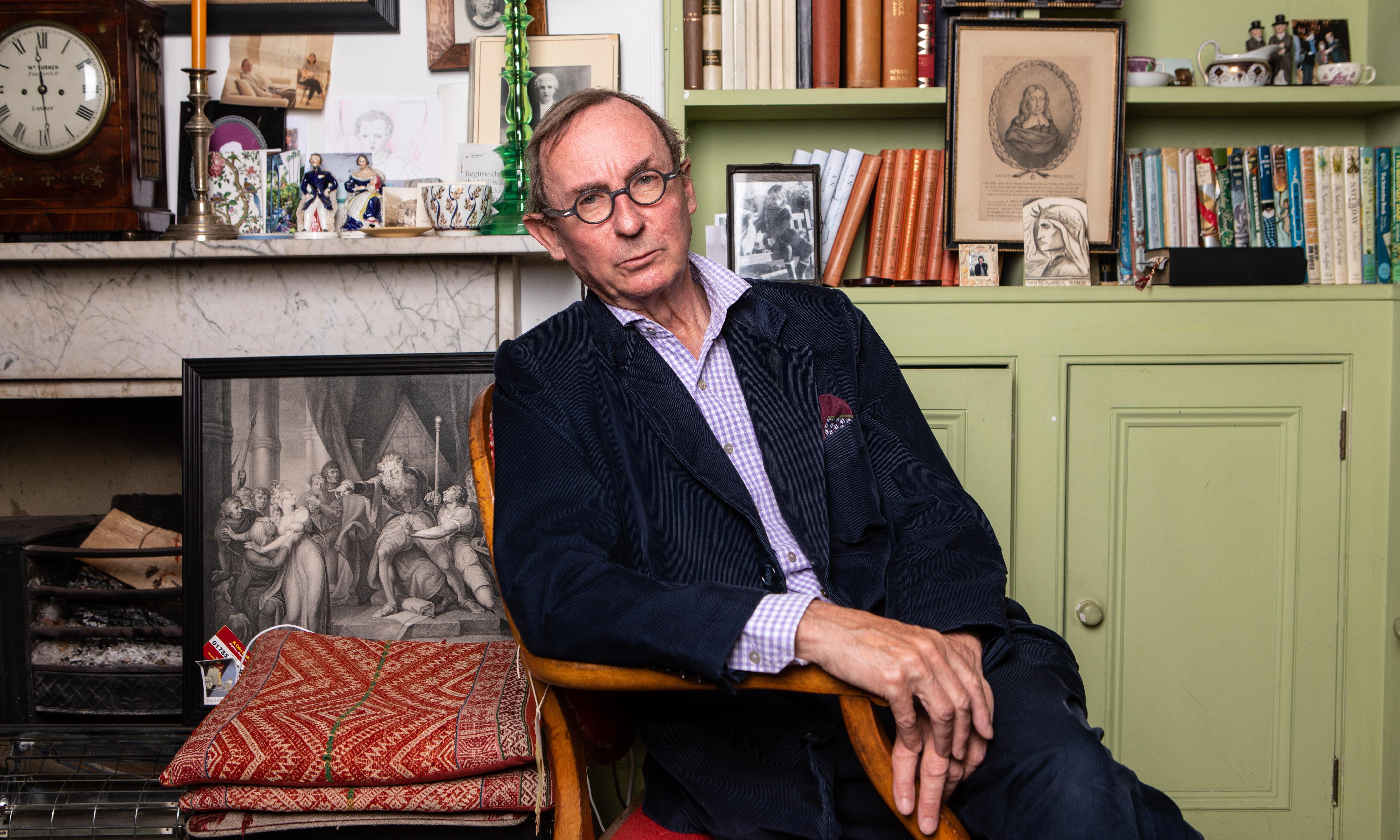 AN Wilson: 'Writing novels, I still feel the terror' | Books