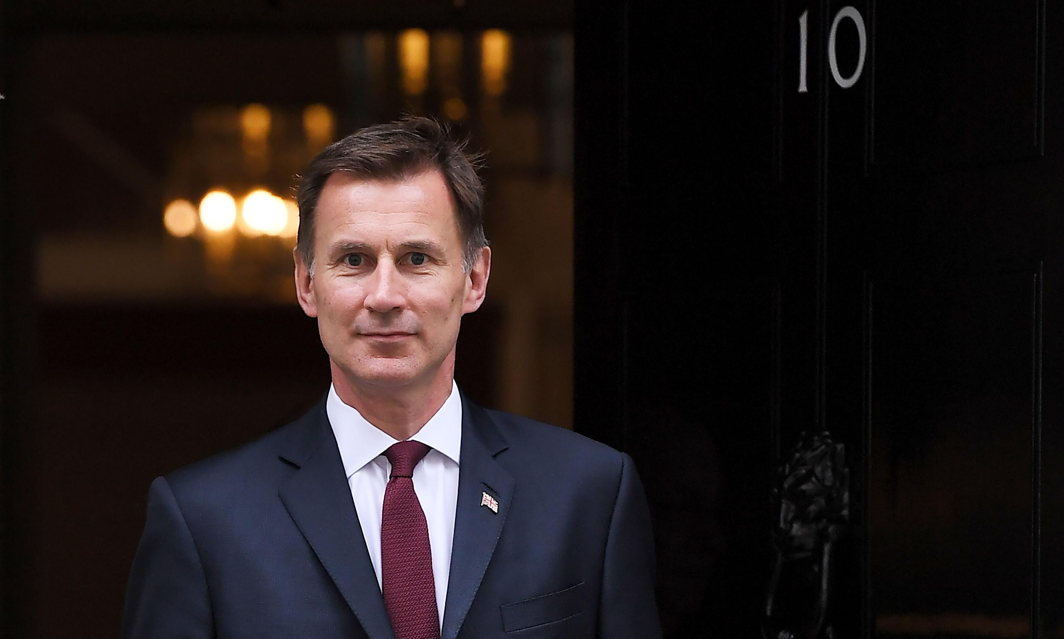 Hunt's pledge to reduce corporation tax 'will cost £13bn a year'