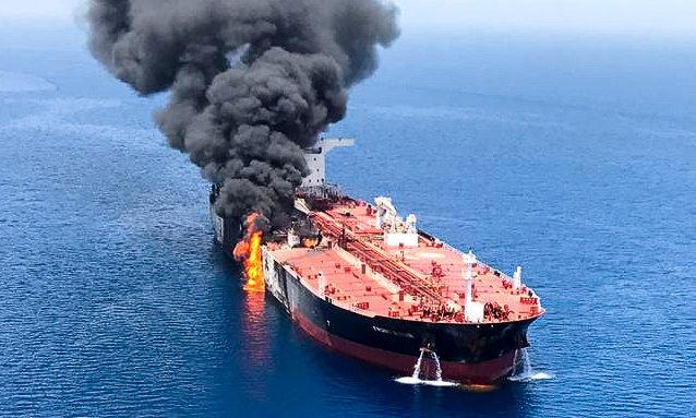 Iran-US dispute grows over attacks on oil tankers in Gulf of Oman