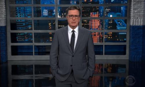 Stephen Colbert: Biden 'might have to deliver his agenda by caesarean'
