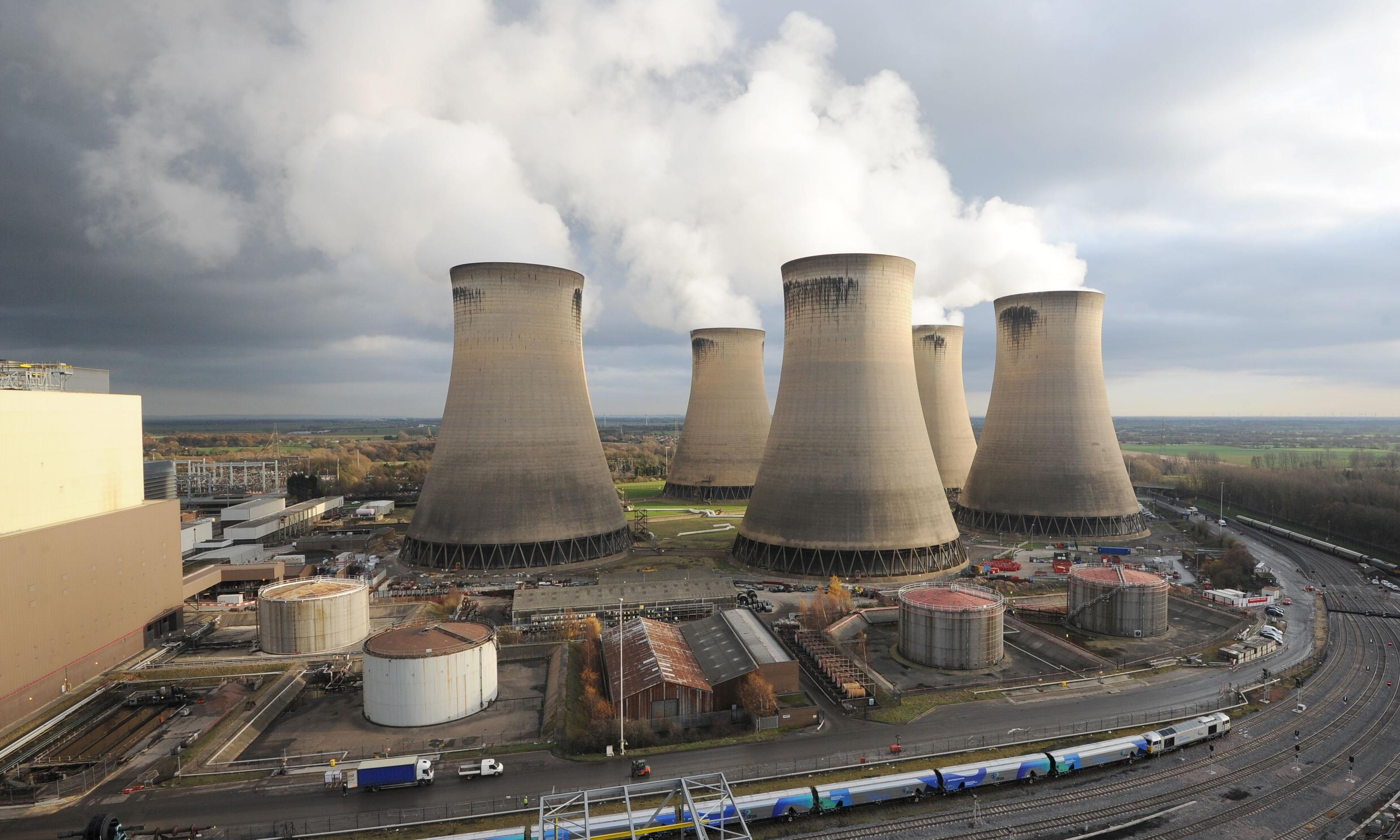 Drax owner plans to be world's first carbon-negative business