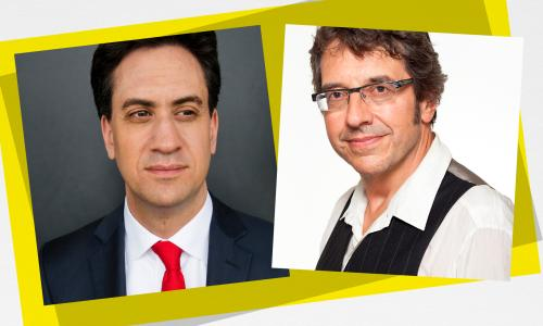 Guardian Live:  Miliband in conversation with Monbiot