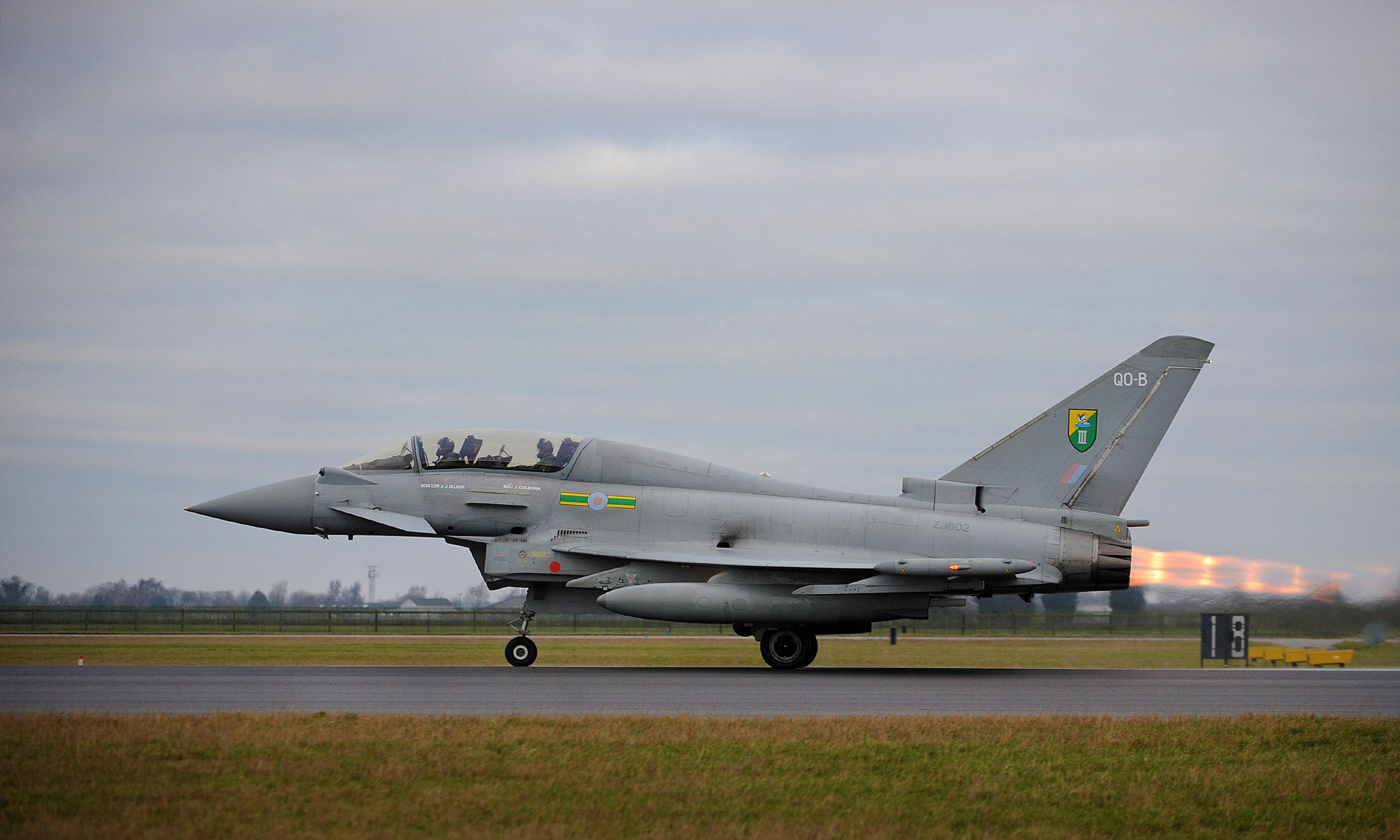 Woman arrested after Jet2 plane intercepted by Typhoon fighters