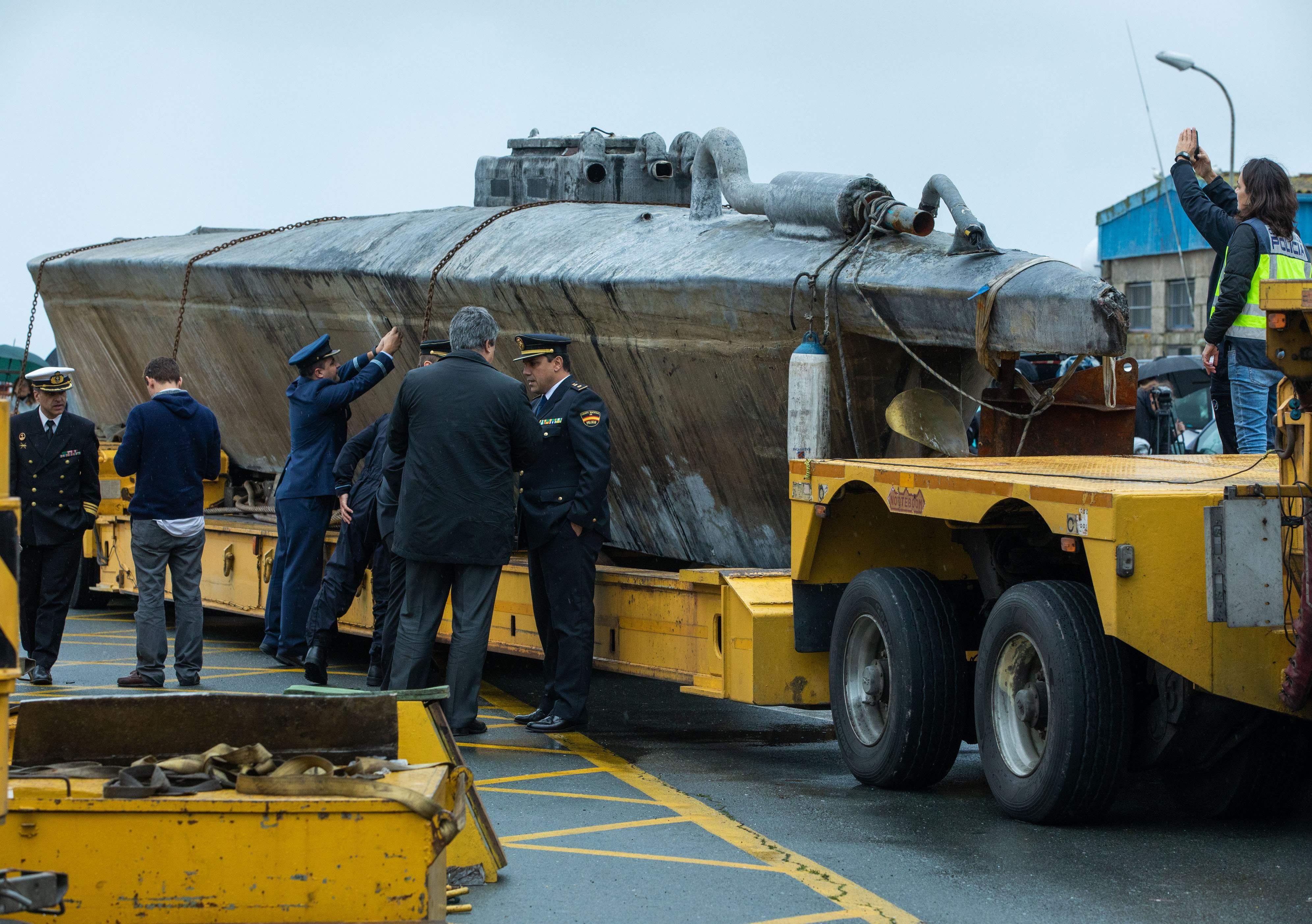 Cocaine seized from 'narco-submarine' in Spain was likely headed for UK