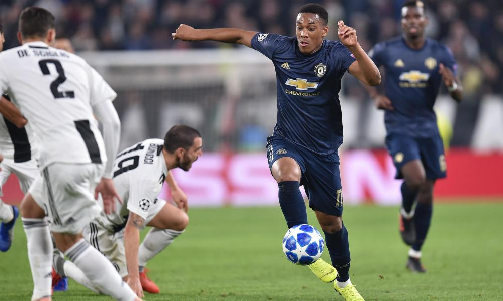 Anthony Martial has added an extra dimension to Manchester United's attack.