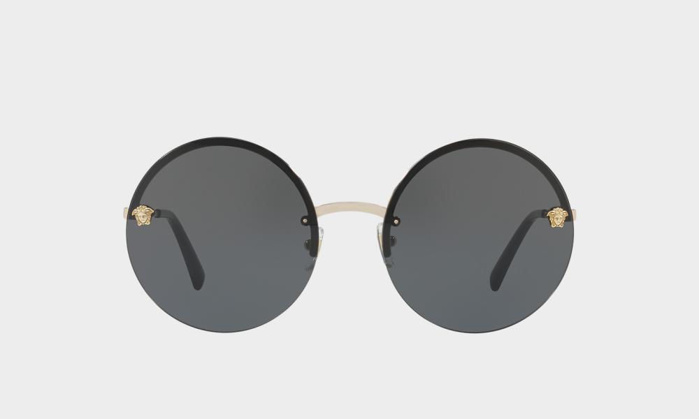 Mirror Medusa sunglasses, £180, from Versace.