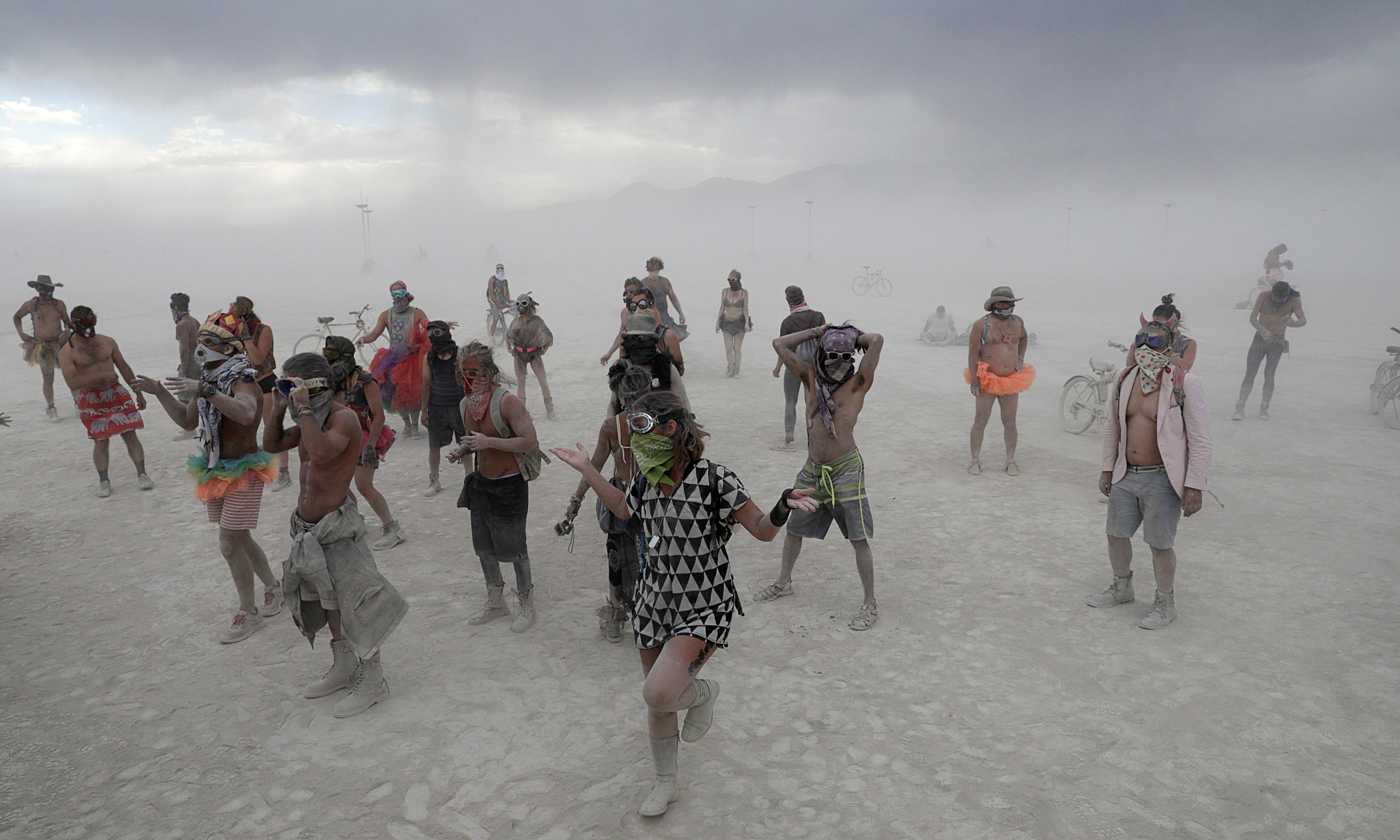 Burning Man: 58 people arrested at festival in sharp increase from last year
