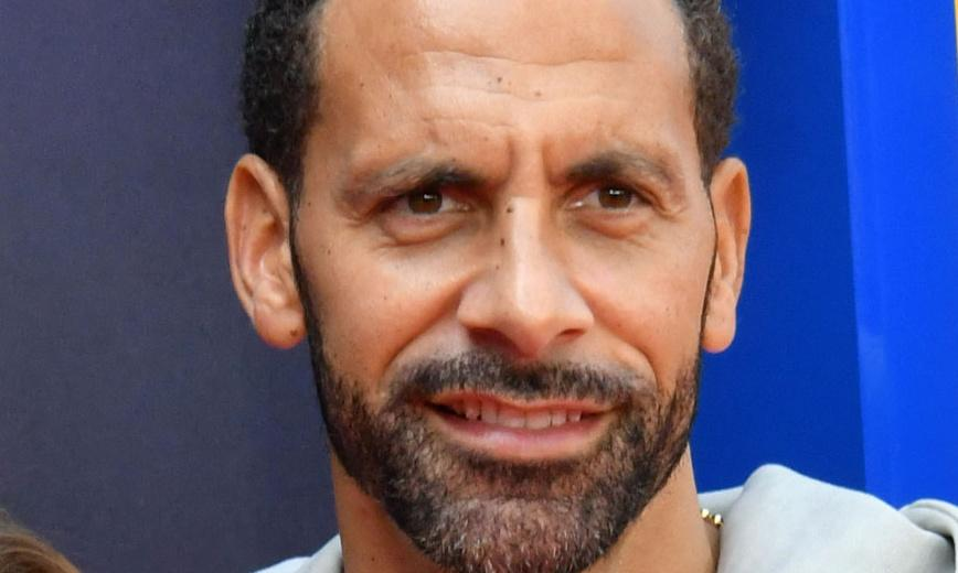 The Rio Ferdinand suitcase: should you have a picture of your partner on your luggage?